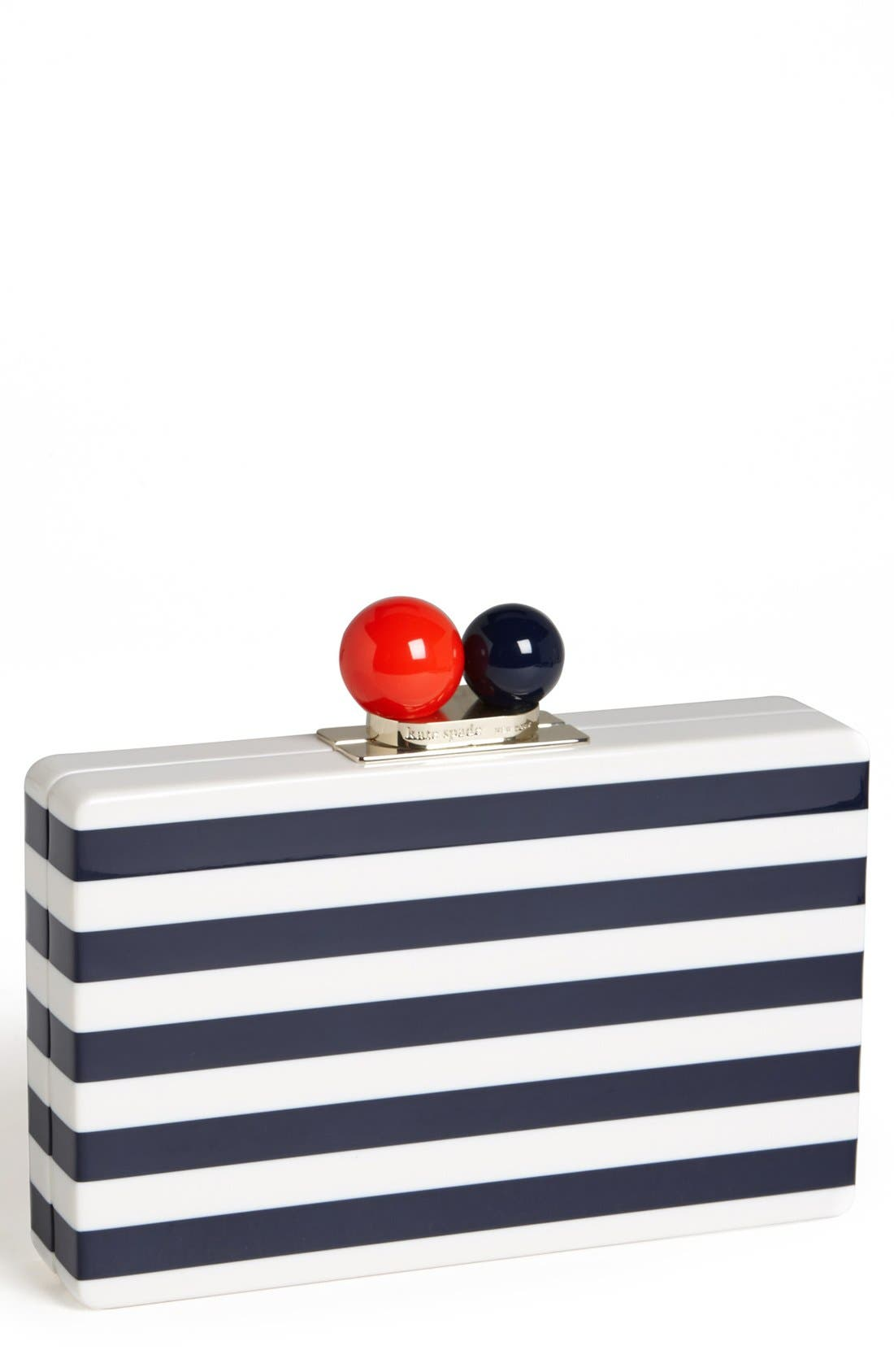 Main Image - kate spade new york 'get out of town - rita' clutch