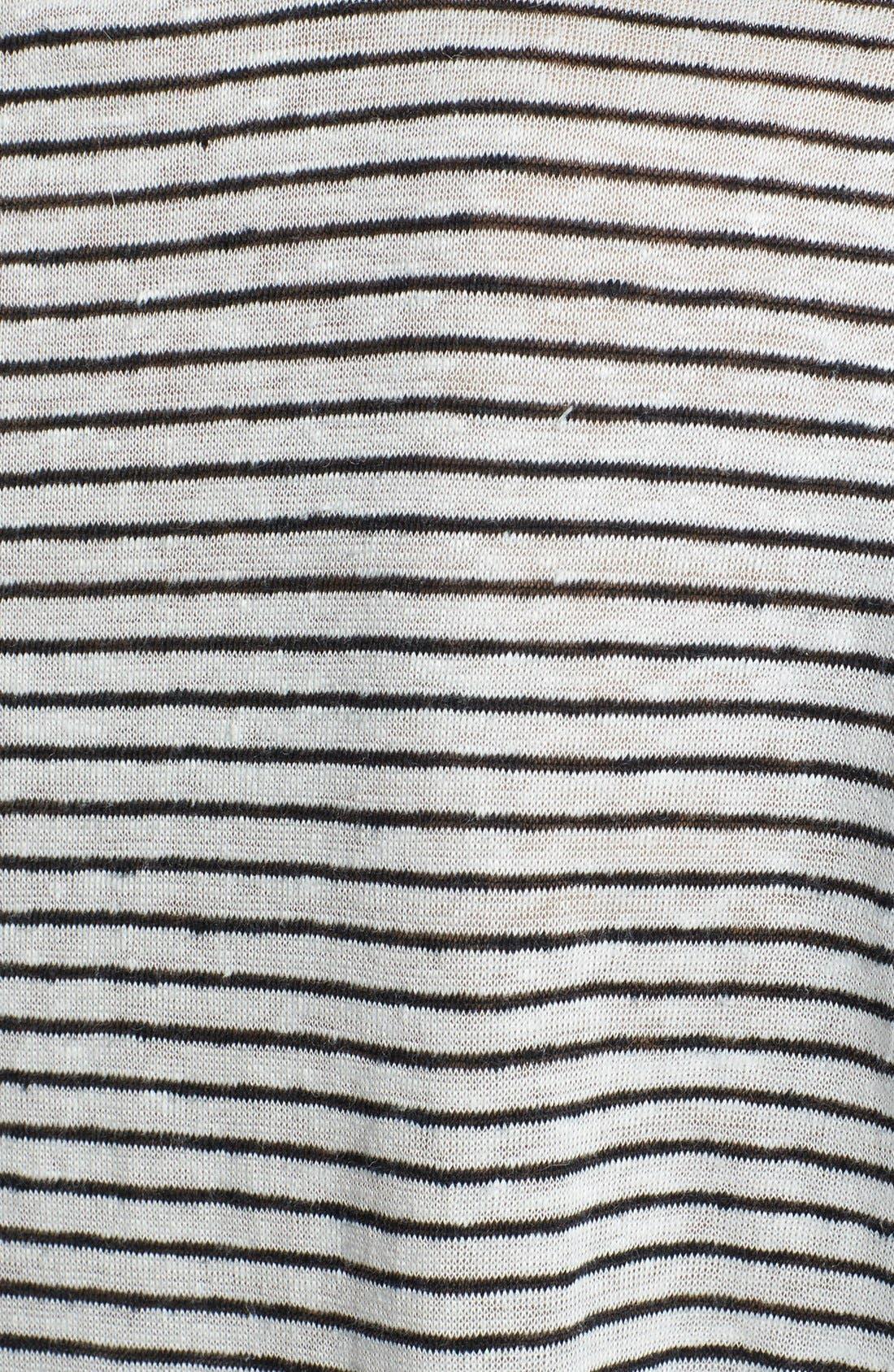 Alternate Image 3  - Vince Stripe U-Neck Tee