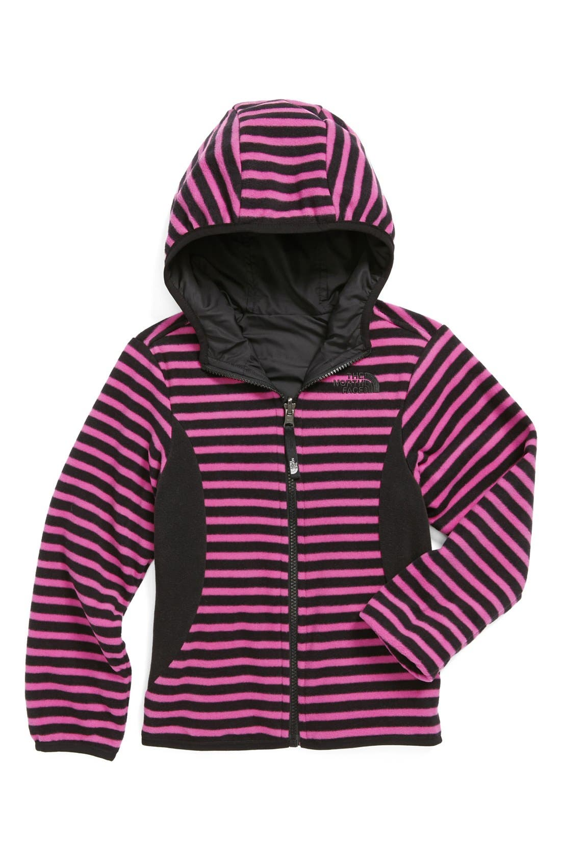 Alternate Image 1 Selected - The North Face 'Comet' Reversible Jacket (Little Girls)