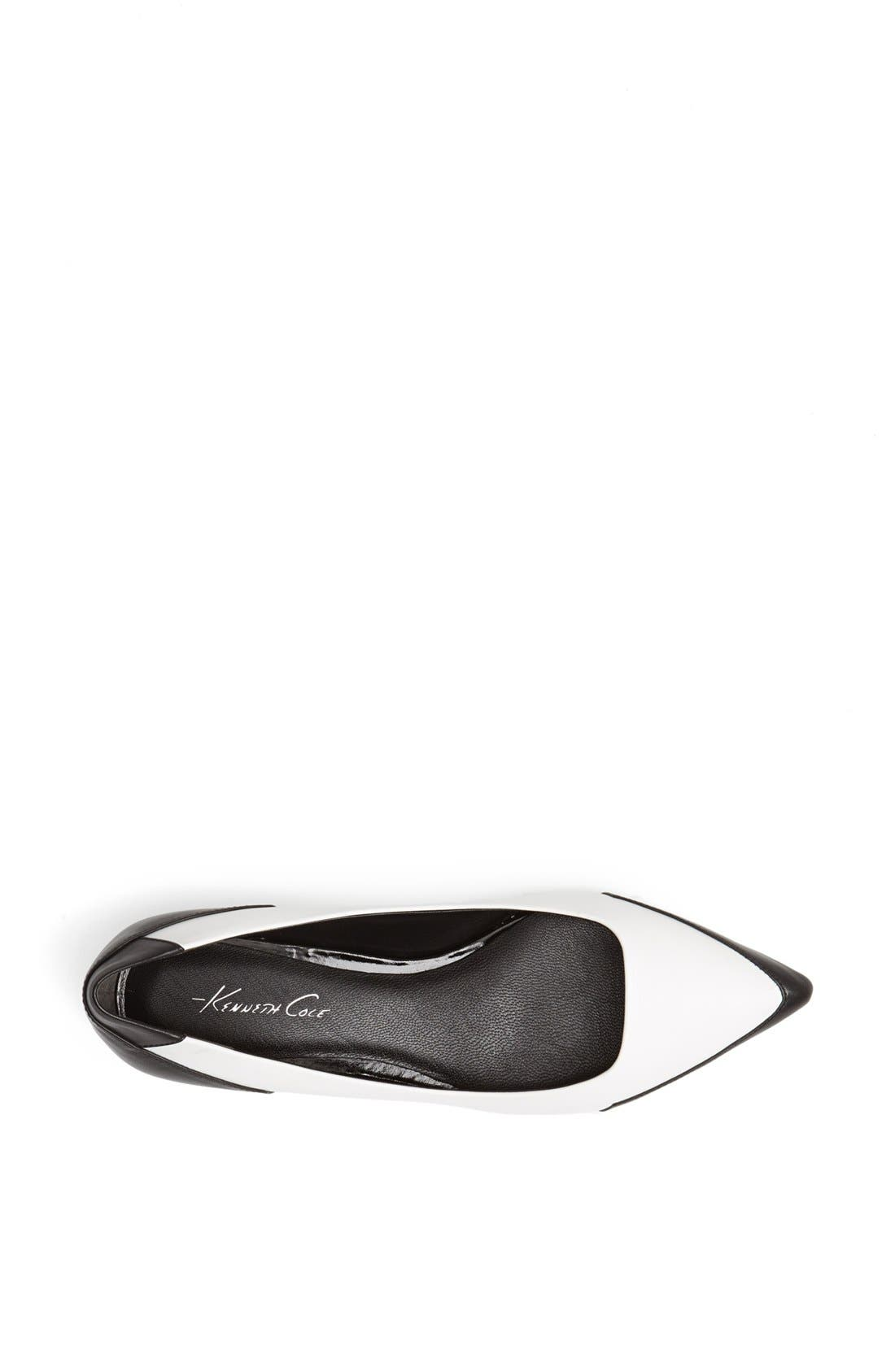 Alternate Image 3  - Kenneth Cole New York 'Mulberry' Leather Flat