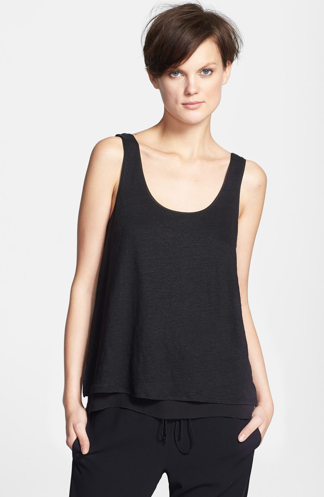 Alternate Image 1 Selected - Vince Double Layer Tank