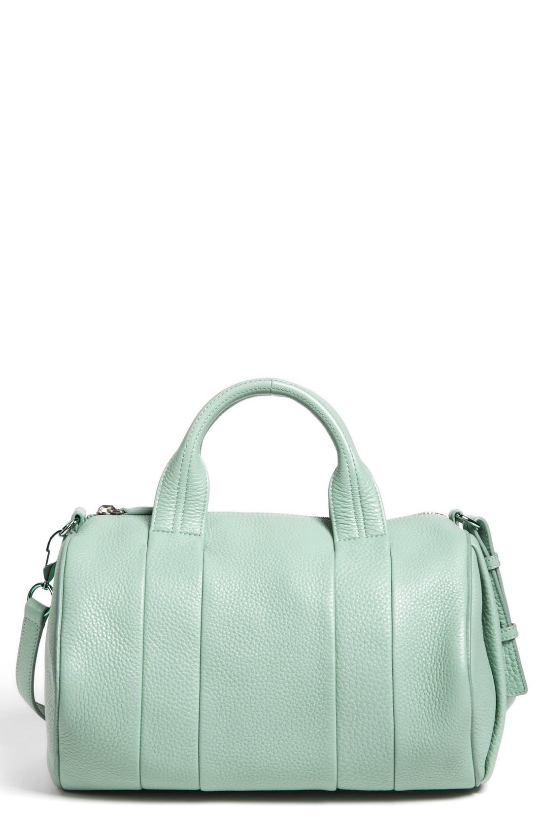 Alternate Image 1 Selected - Alexander Wang 'Rocco - Zinc' Leather Satchel