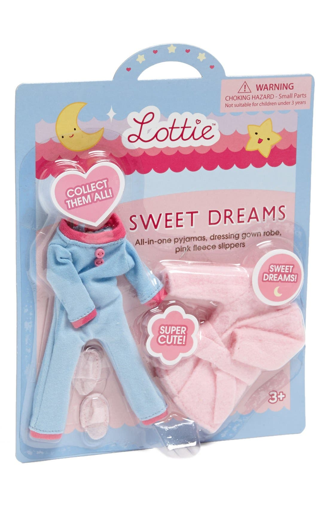 Alternate Image 1 Selected - Schylling 'Sweet Dreams' Lottie™ Doll Accessory Set