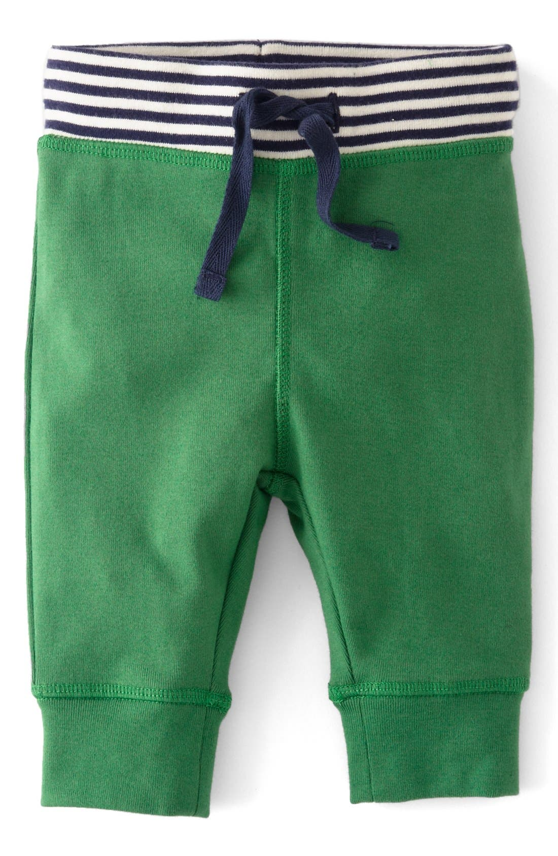 Alternate Image 1 Selected - Mini Boden 'Essential' Cotton Jersey Pants (Baby Boys)