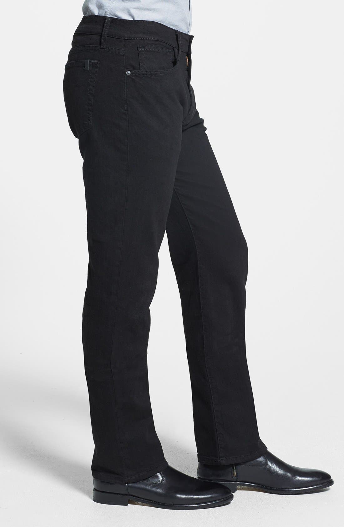Alternate Image 3  - Joe's 'Classic' Straight Leg Jeans (Jet Black)