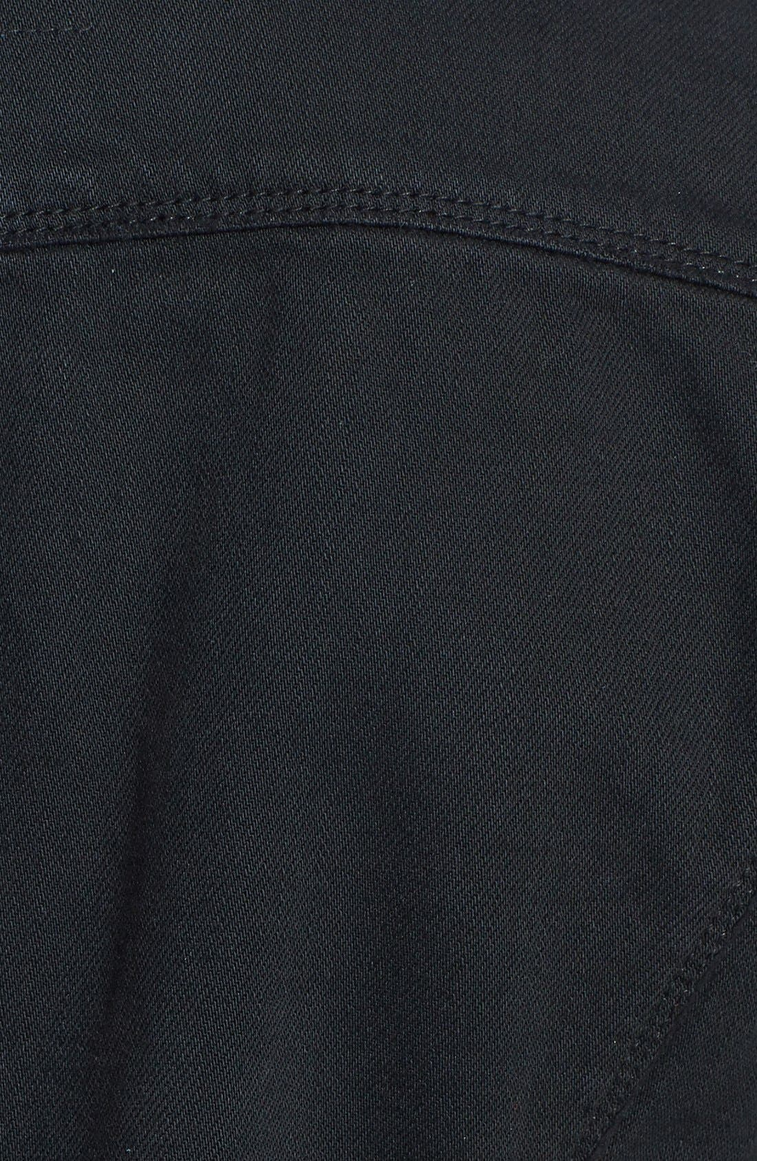 Alternate Image 3  - Paige Denim 'Vermont' Distressed Denim Jacket (Vintage Black)