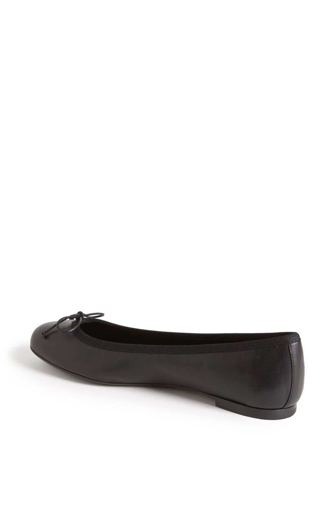 Alternate Image 2  - Saint Laurent 'Dance' Leather Ballet Flat