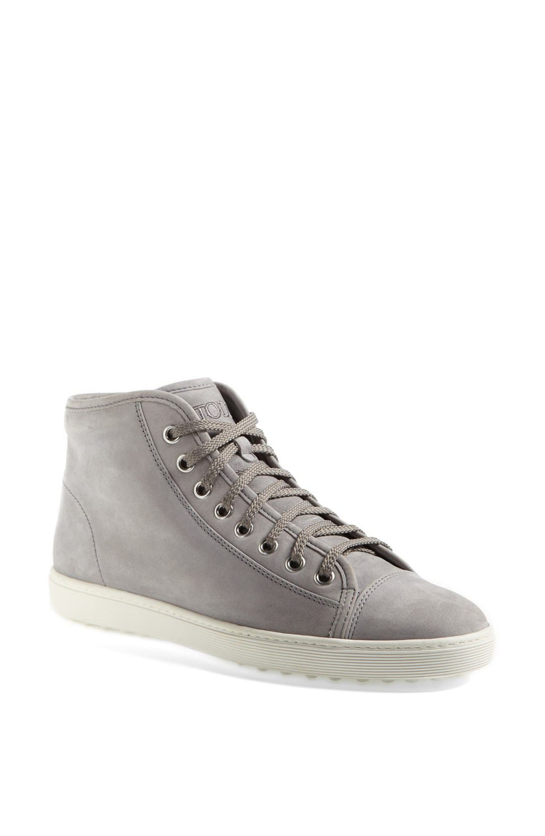 Alternate Image 1 Selected - Tod's 'Sport Cassetta' High Top Sneaker