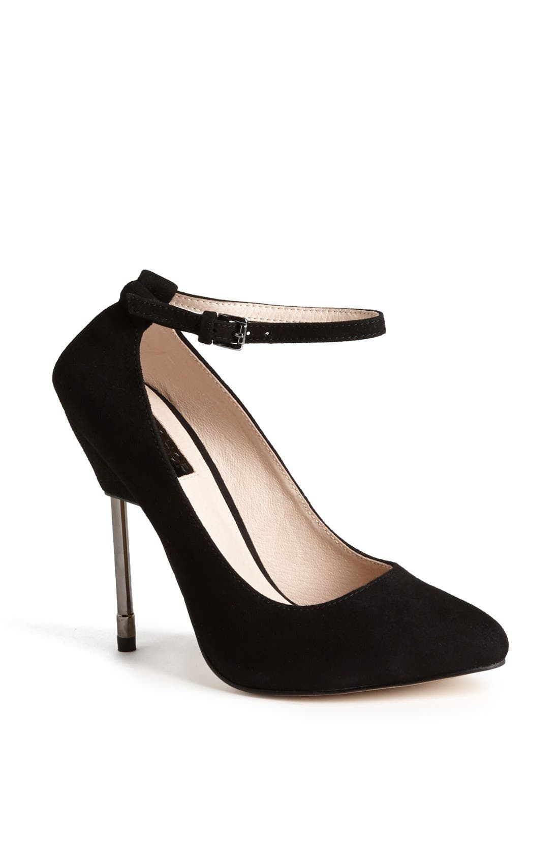 Alternate Image 1 Selected - Topshop 'Giddy' Suede Pump