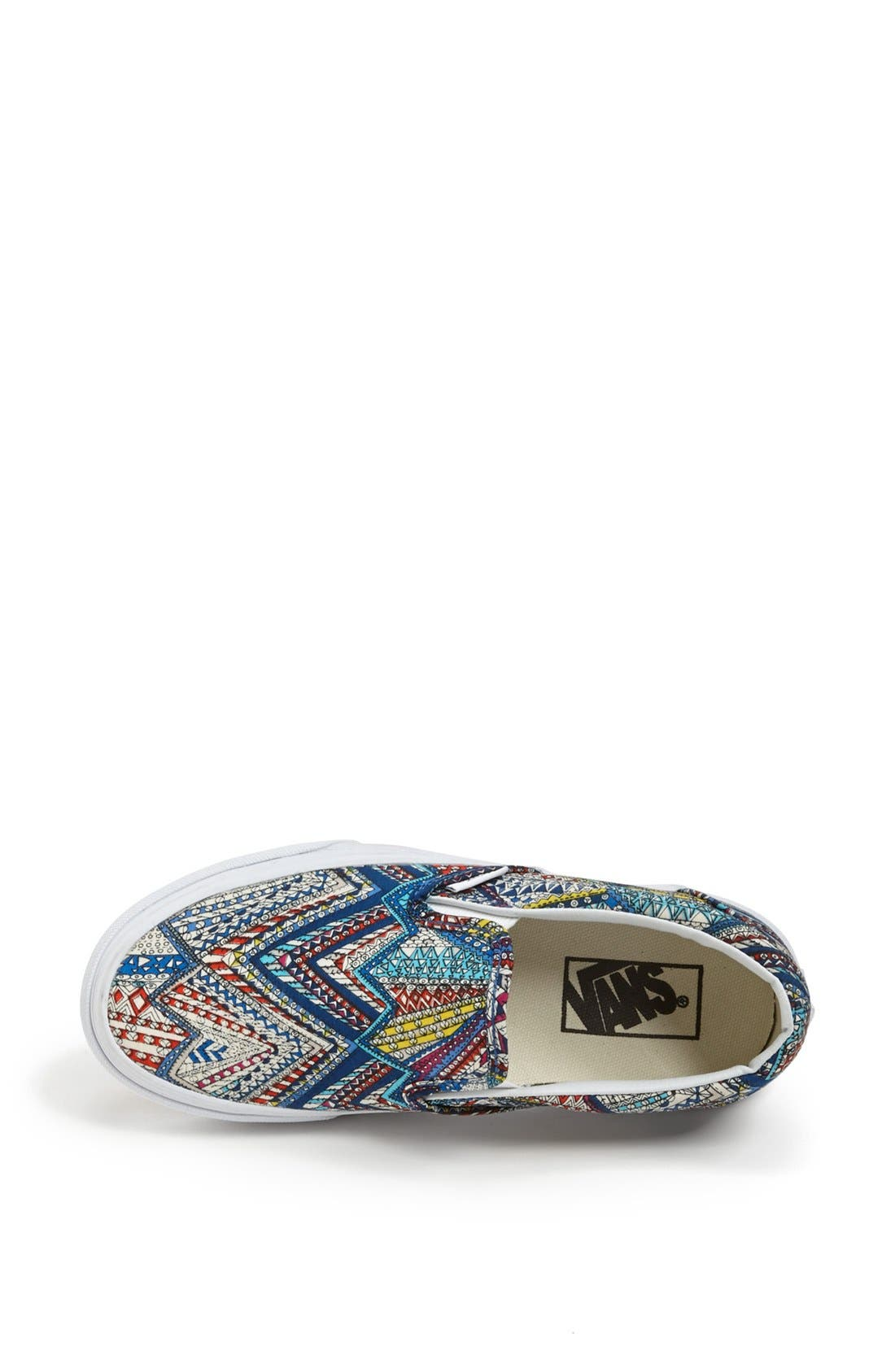 Alternate Image 3  - Vans 'Classic - Abstract' Sneaker (Women)
