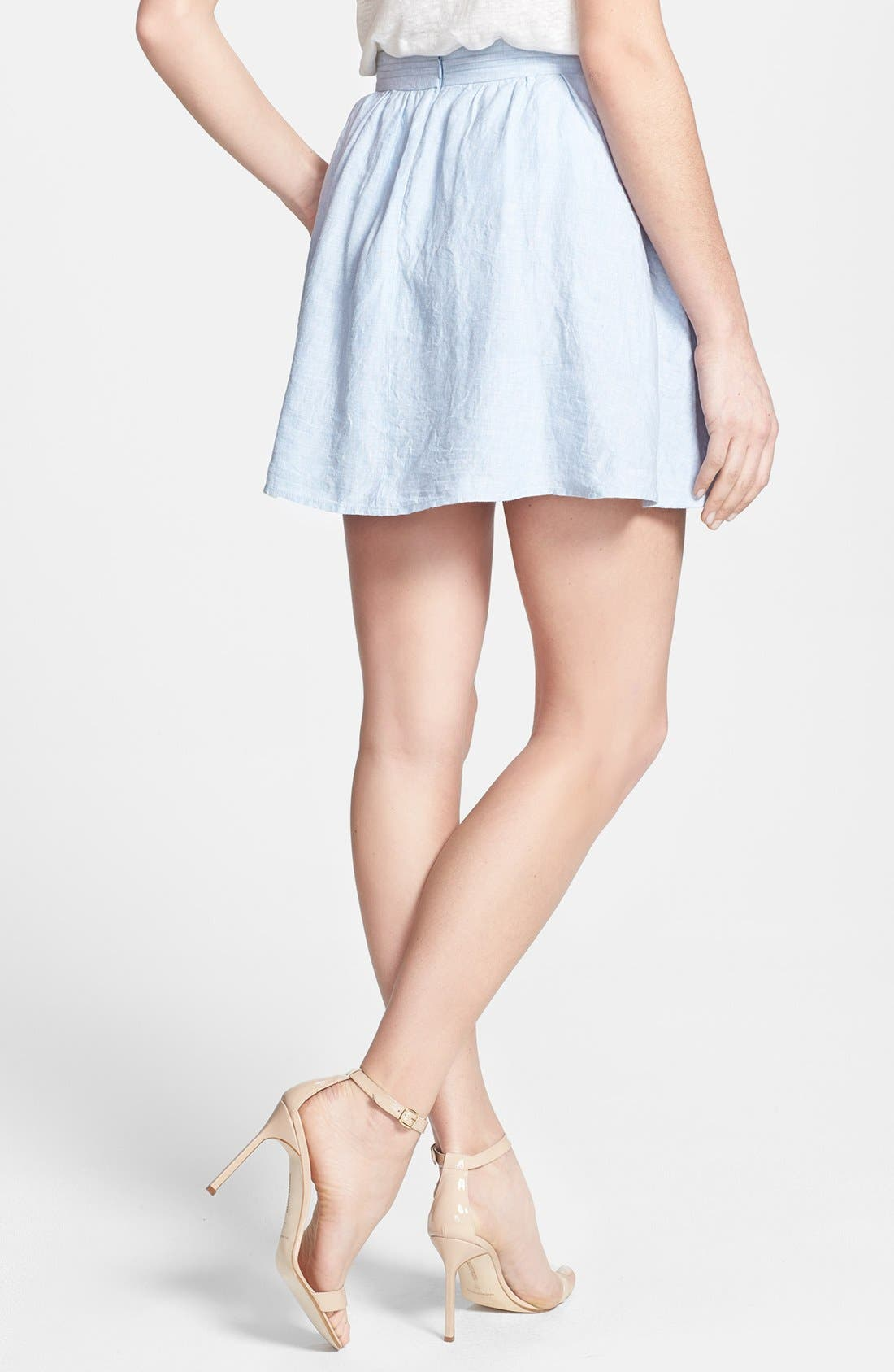 Alternate Image 2  - Joie 'Kaylea' Flare Linen Skirt