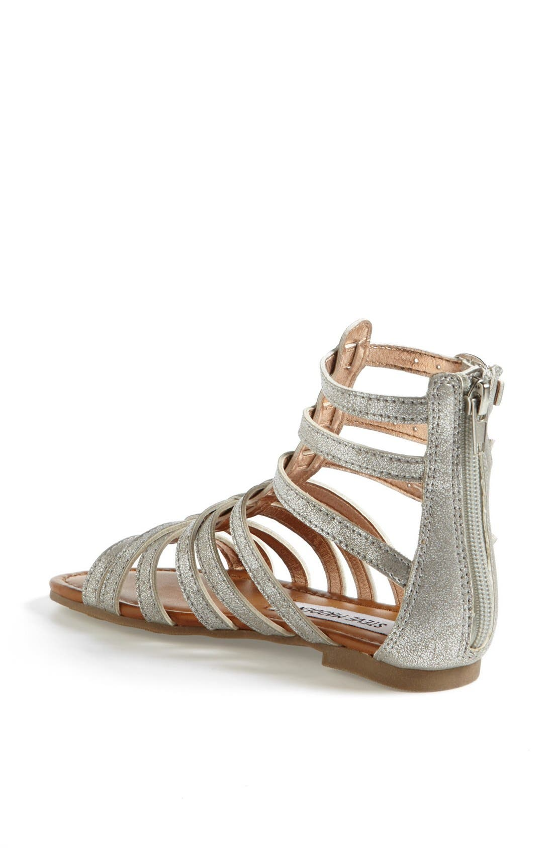 Alternate Image 2  - Steve Madden 'Plato' Gladiator Sandal (Little Kid & Big Kid)