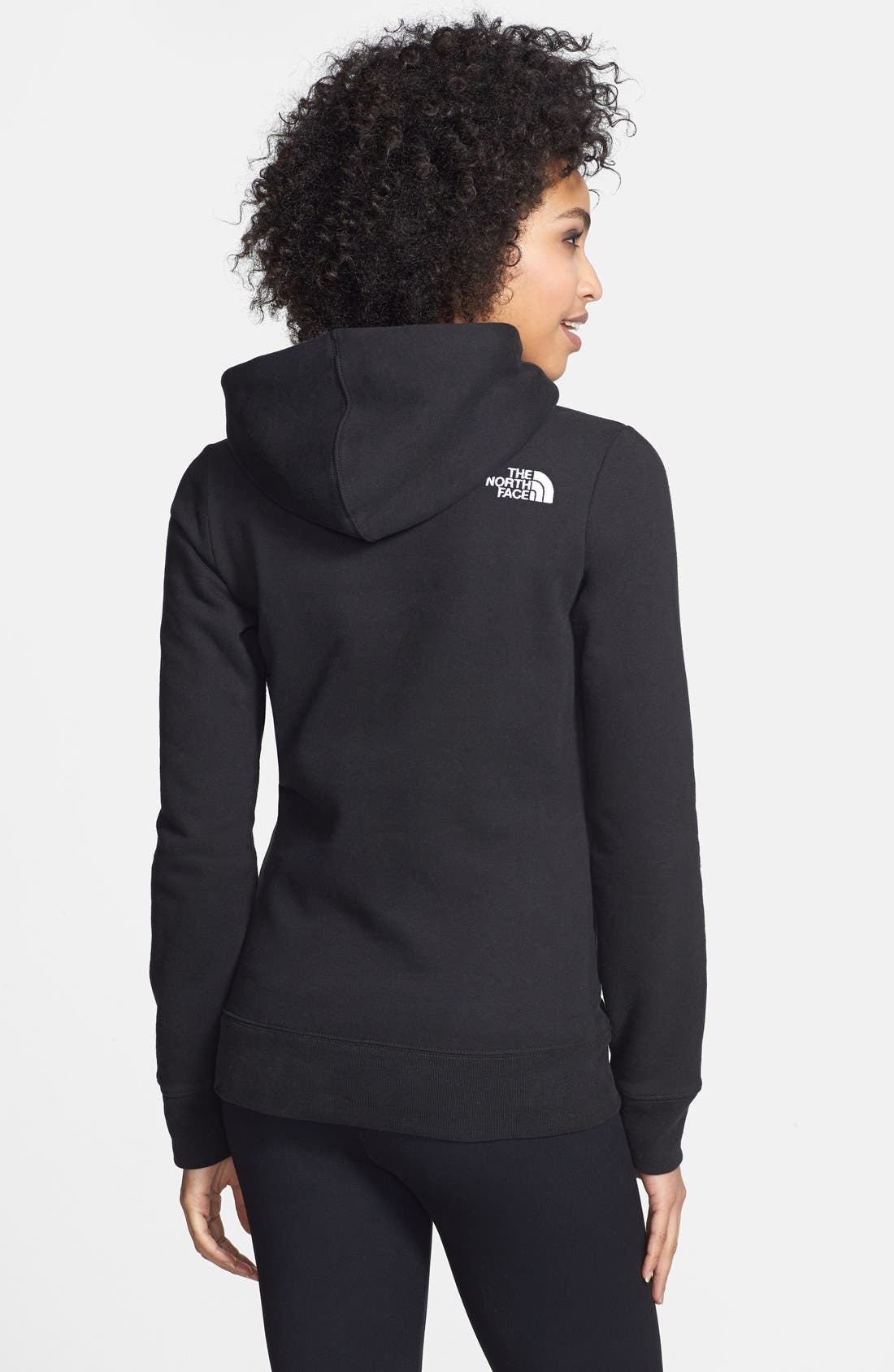 Alternate Image 2  - The North Face Logo Hoodie