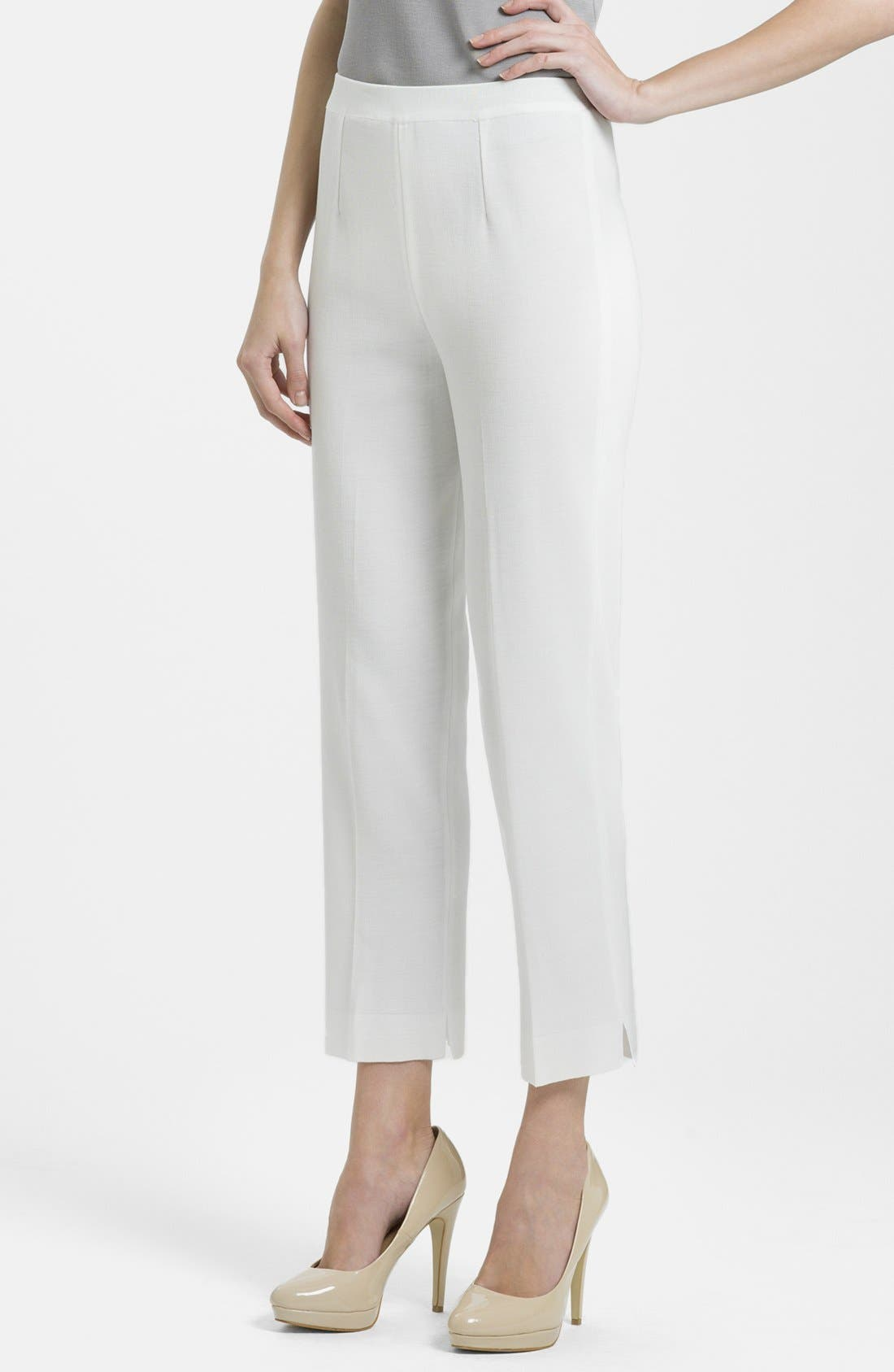 Main Image - Ming Wang Lined Ankle Pants