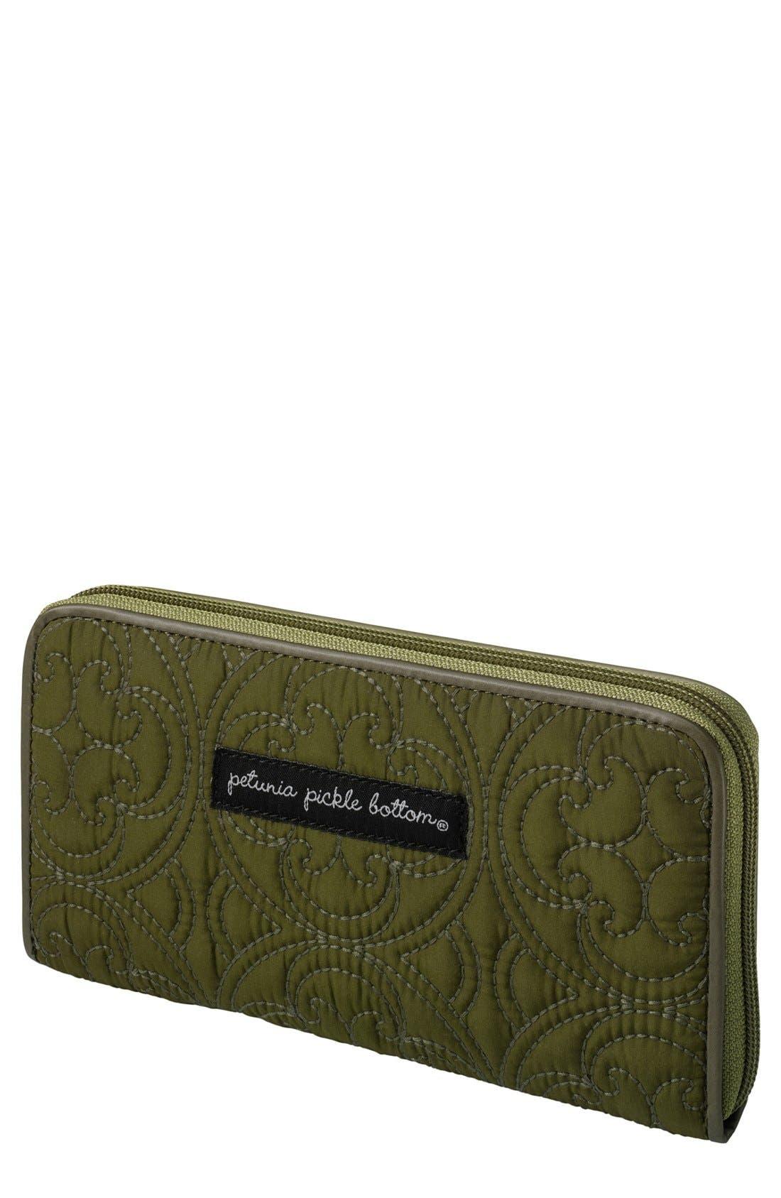 Alternate Image 1 Selected - Petunia Pickle Bottom 'Wanderlust' Wallet