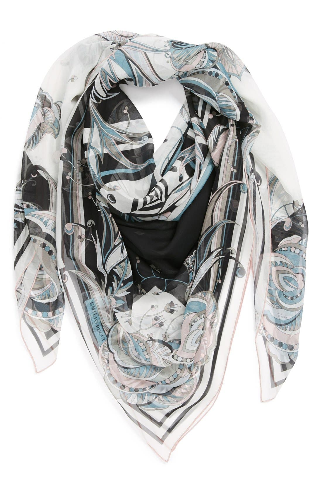Alternate Image 1 Selected - Emilio Pucci 'Star Rose' Silk Scarf