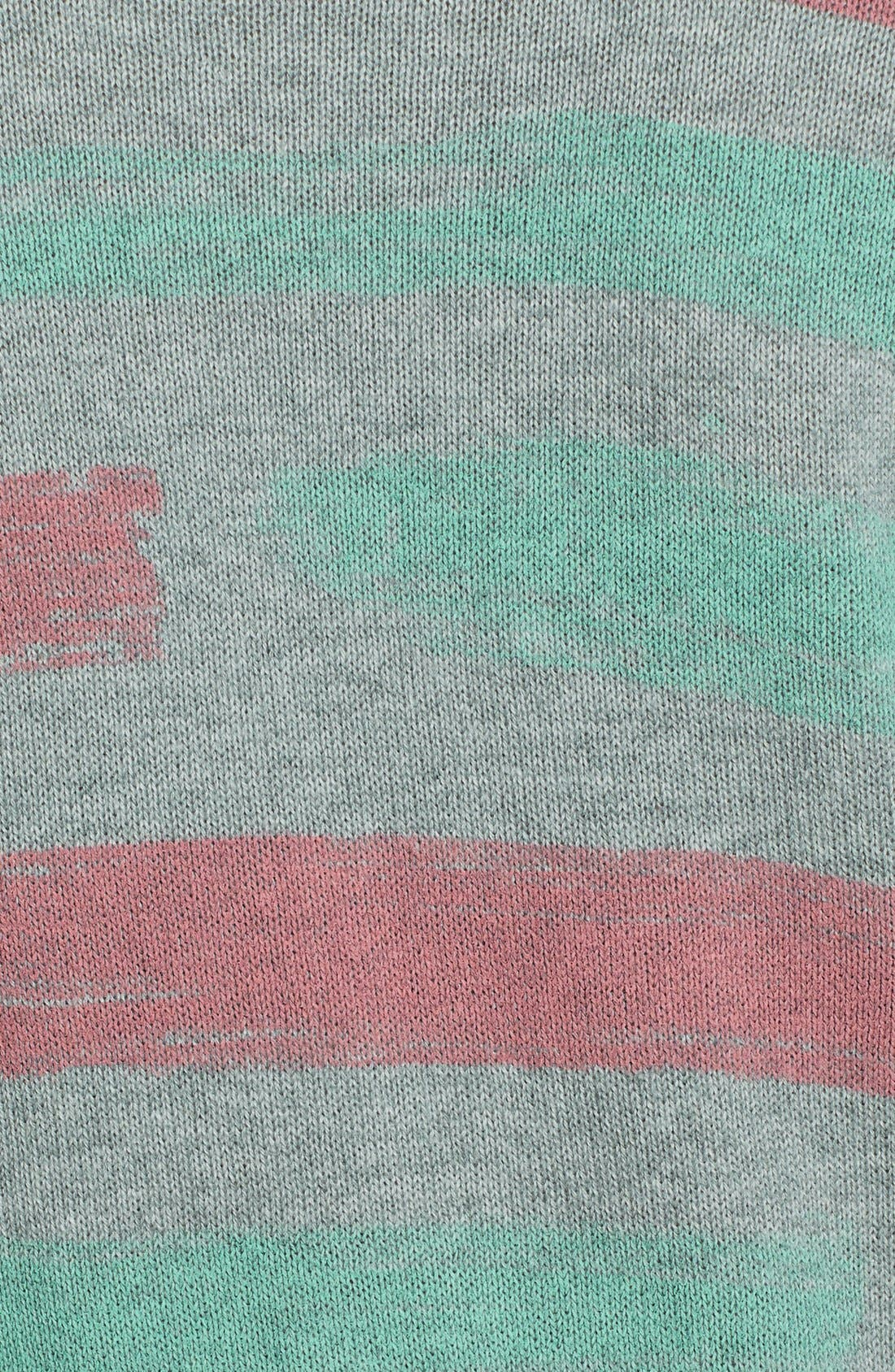 Alternate Image 3  - BP. Stripe Cotton Pullover (Juniors)