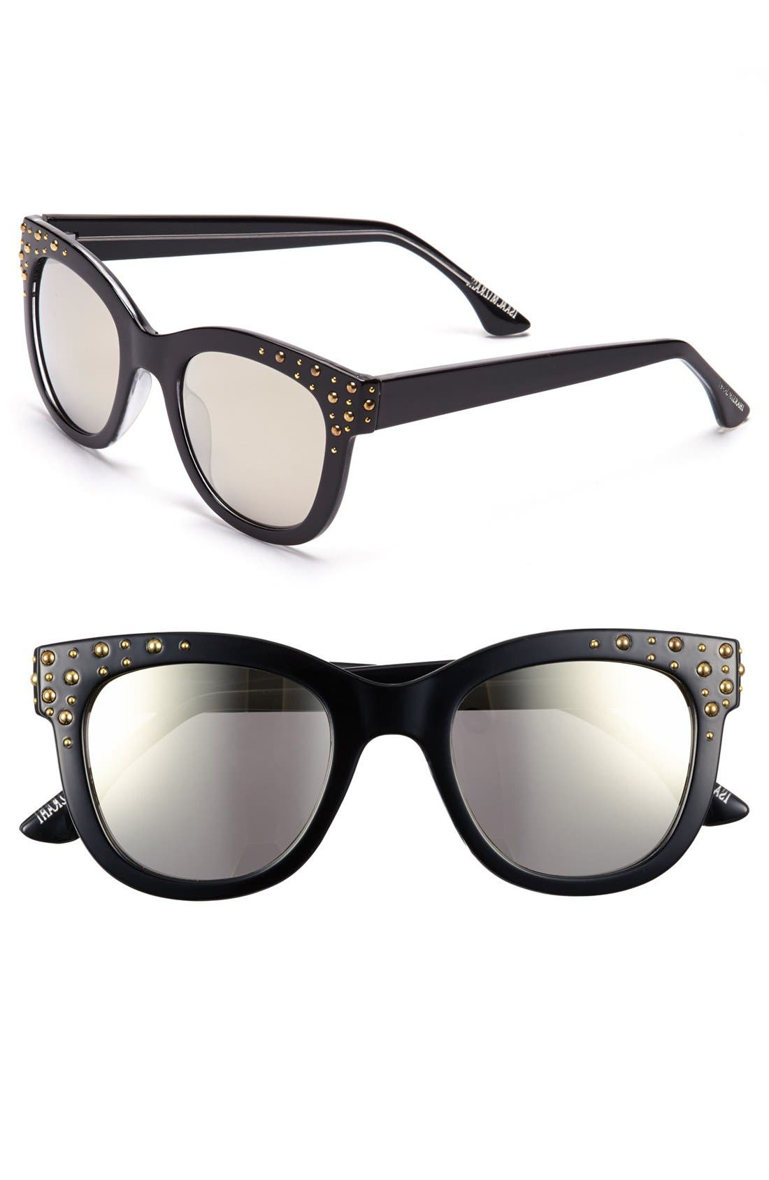 Alternate Image 1 Selected - Isaac Mizrahi New York 52mm Retro Sunglasses