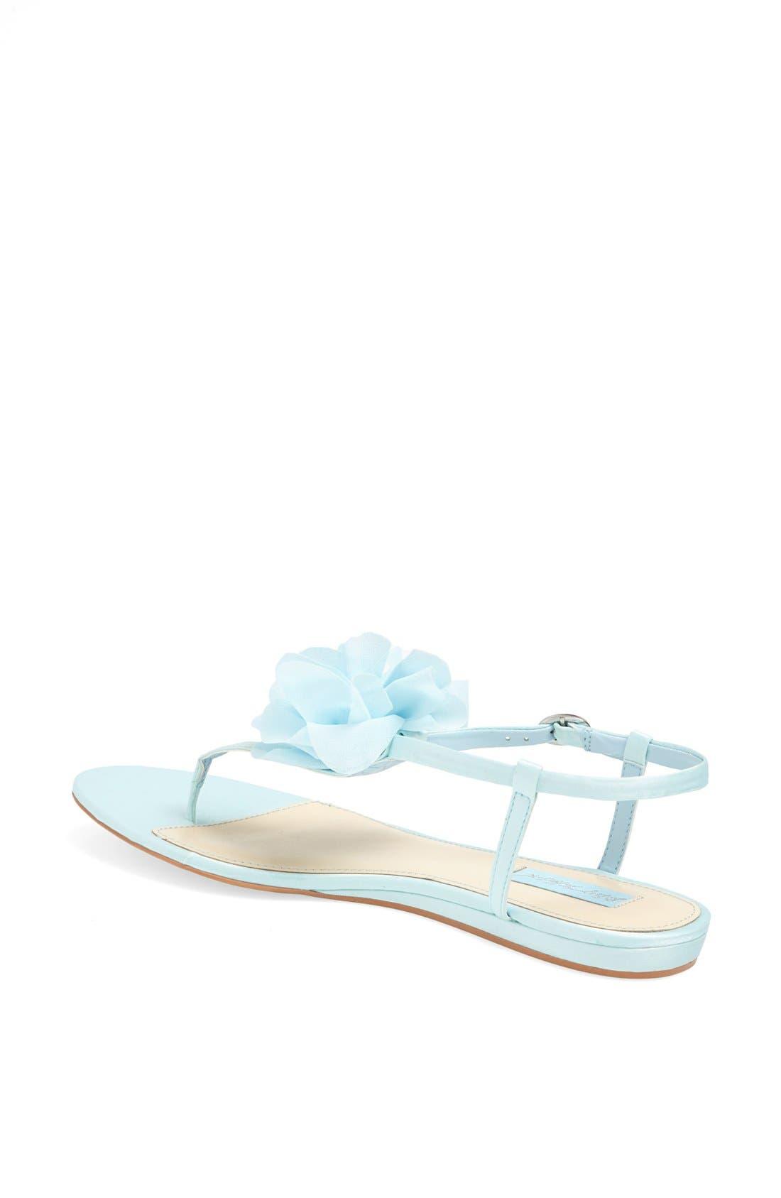 Alternate Image 2  - Blue by Betsey Johnson 'Iris' Thong Sandal