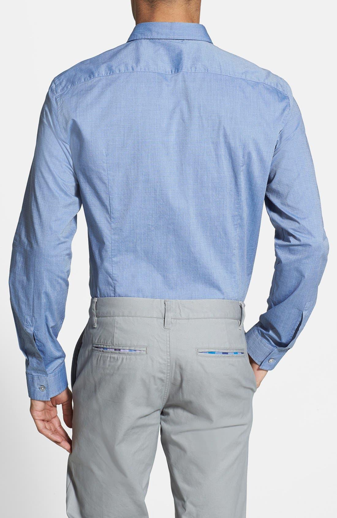 Alternate Image 2  - BOSS HUGO BOSS 'Nemos' Slim Fit Sport Shirt