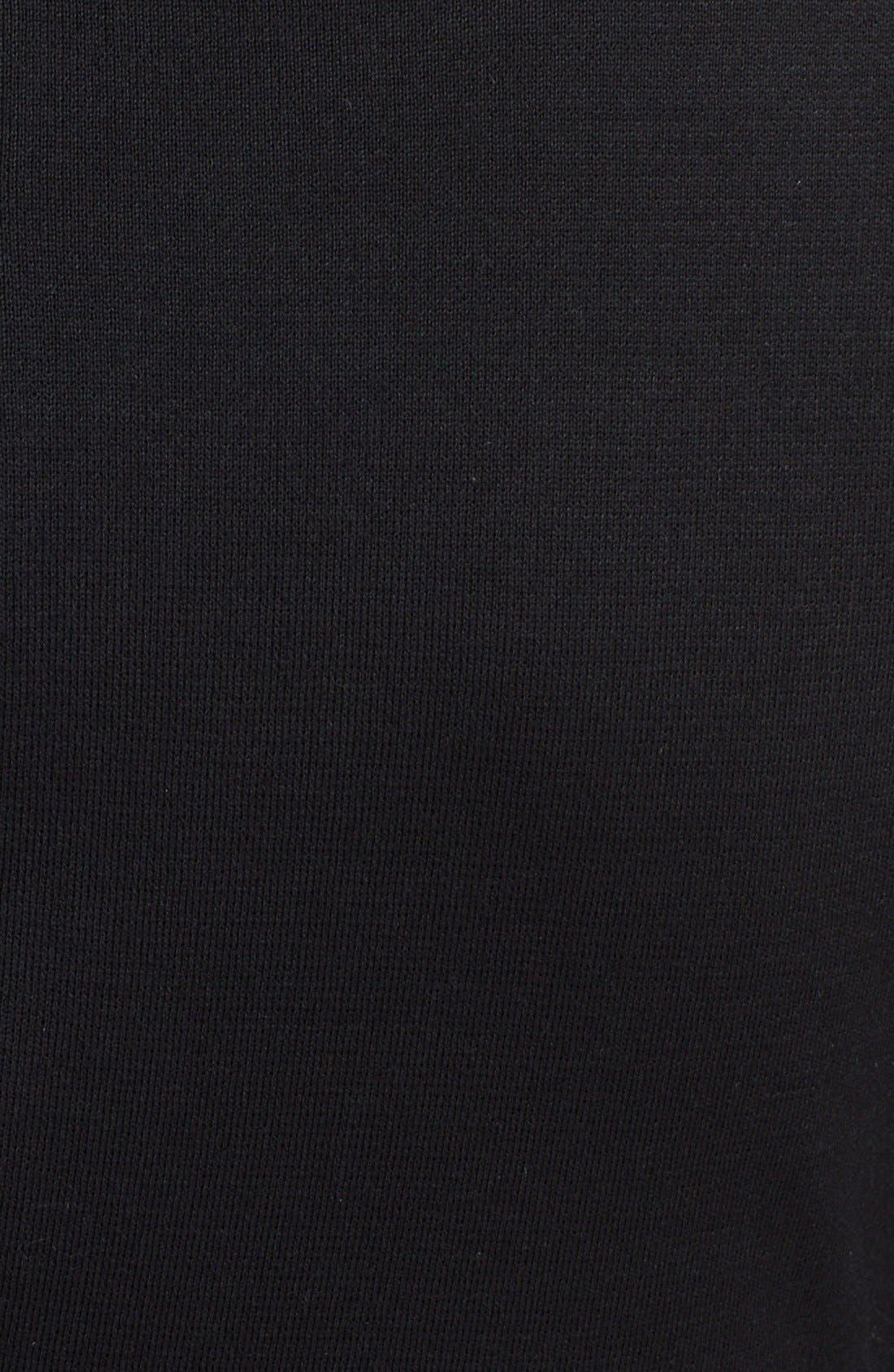 Alternate Image 3  - St. John Collection Bateau Neck Drape Front Milano Knit Dress