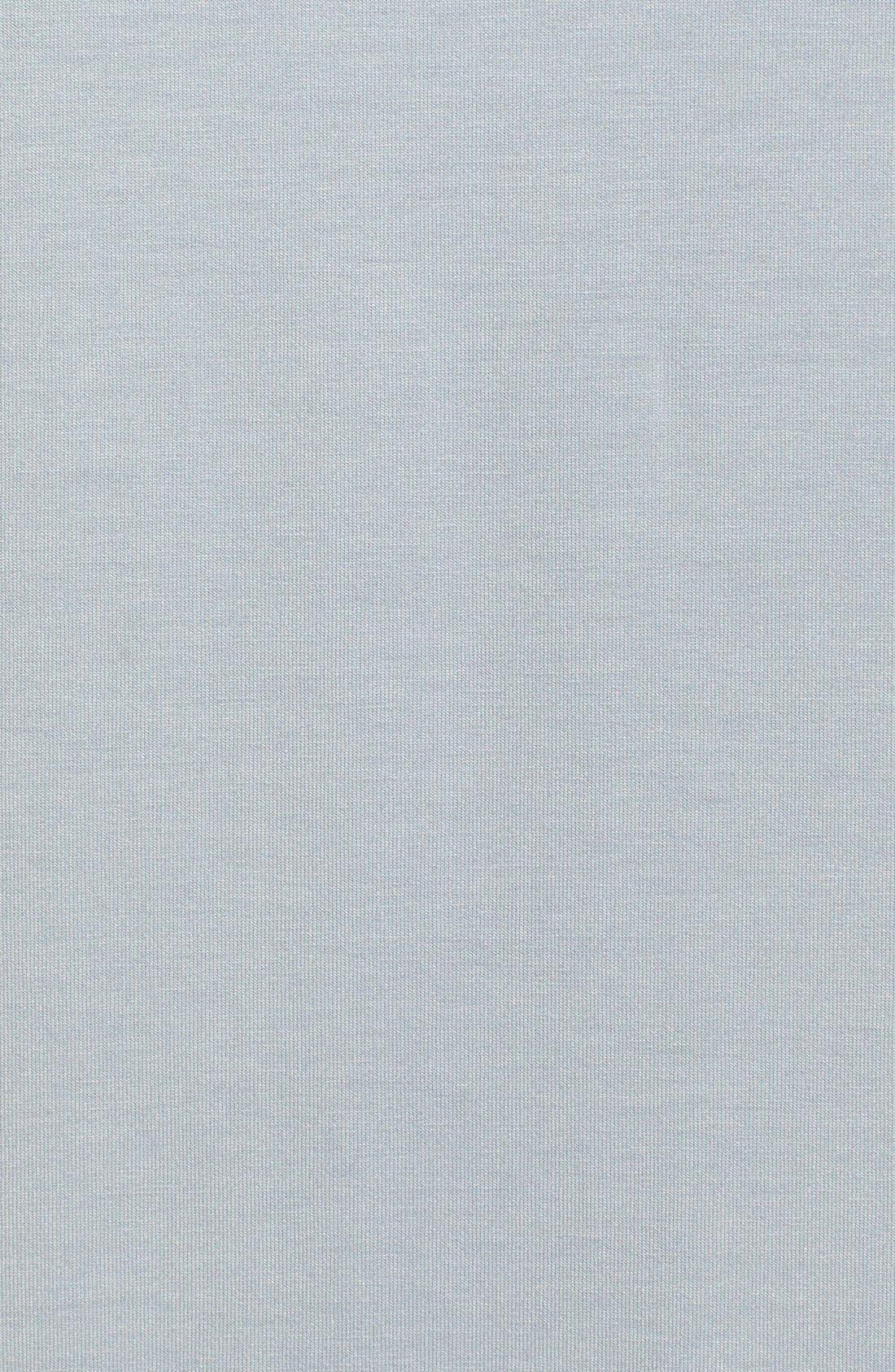 Alternate Image 3  - L'AGENCE Draped Jersey Tunic Dress