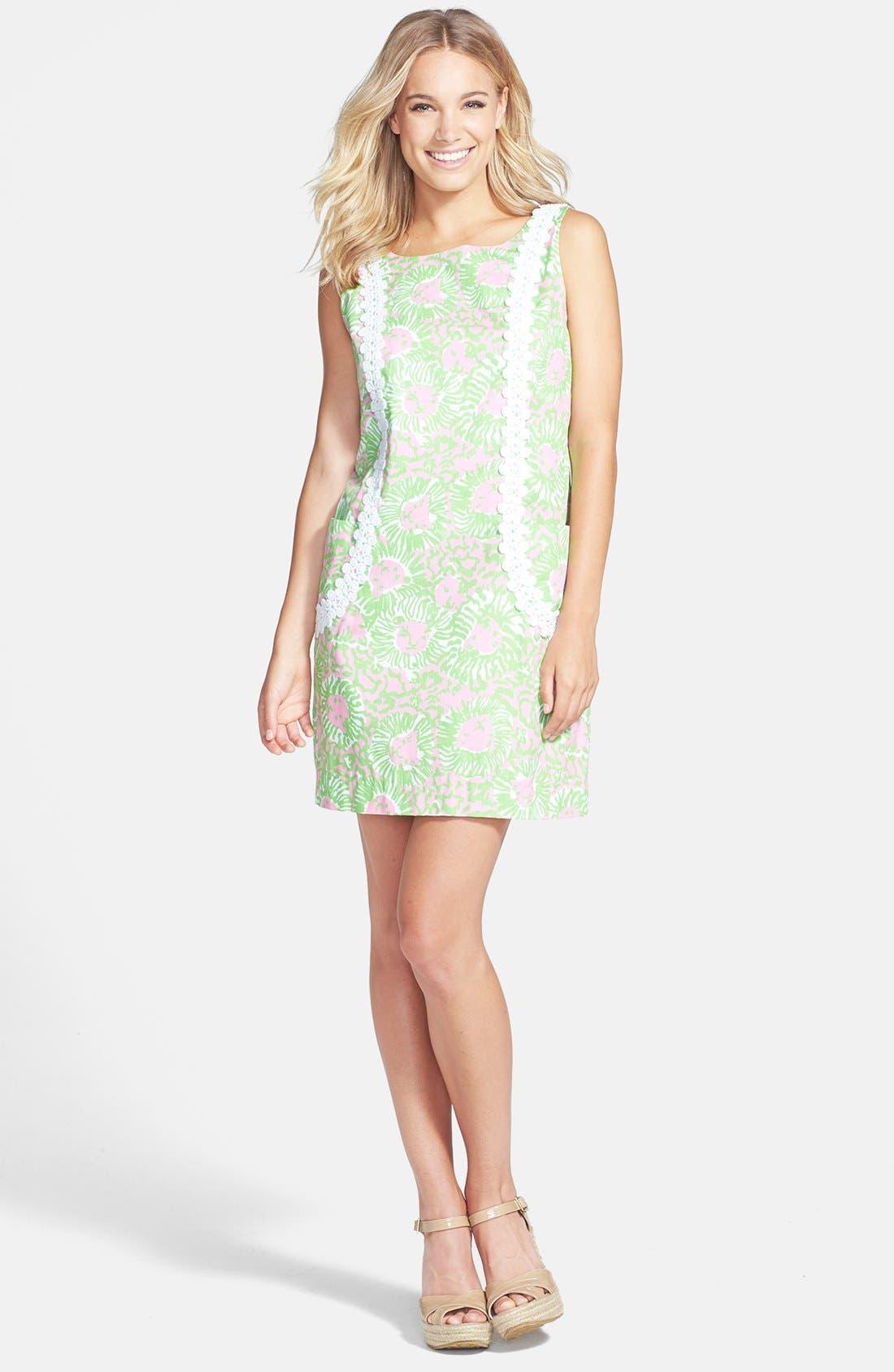 Alternate Image 1 Selected - Lilly Pulitzer® 'Liz' Print Shift Dress