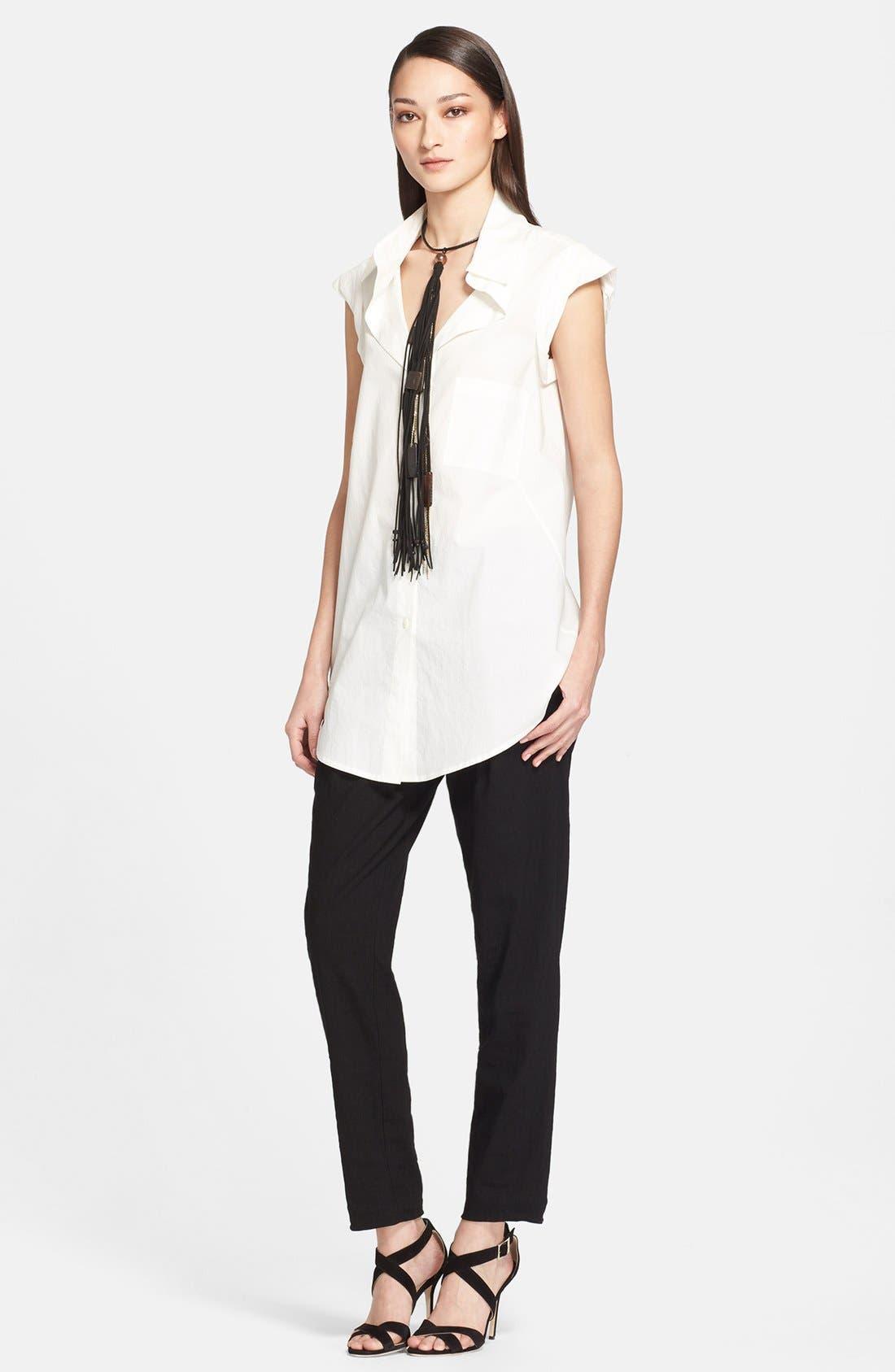 Alternate Image 3  - Donna Karan Collection Cotton Blouse