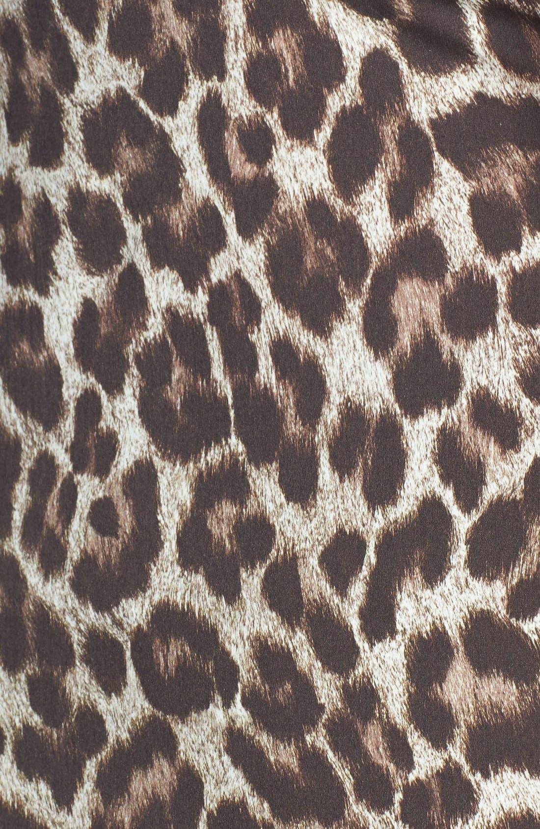 Alternate Image 5  - MICHAEL Michael Kors 'Tunisia Cheetah' Tankini Top (Plus Size)