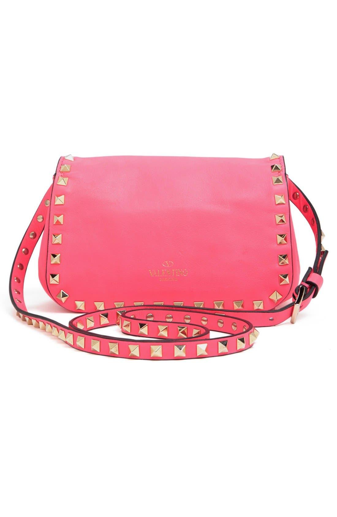 Alternate Image 4  - Valentino 'Small Rockstud' Flap Bag