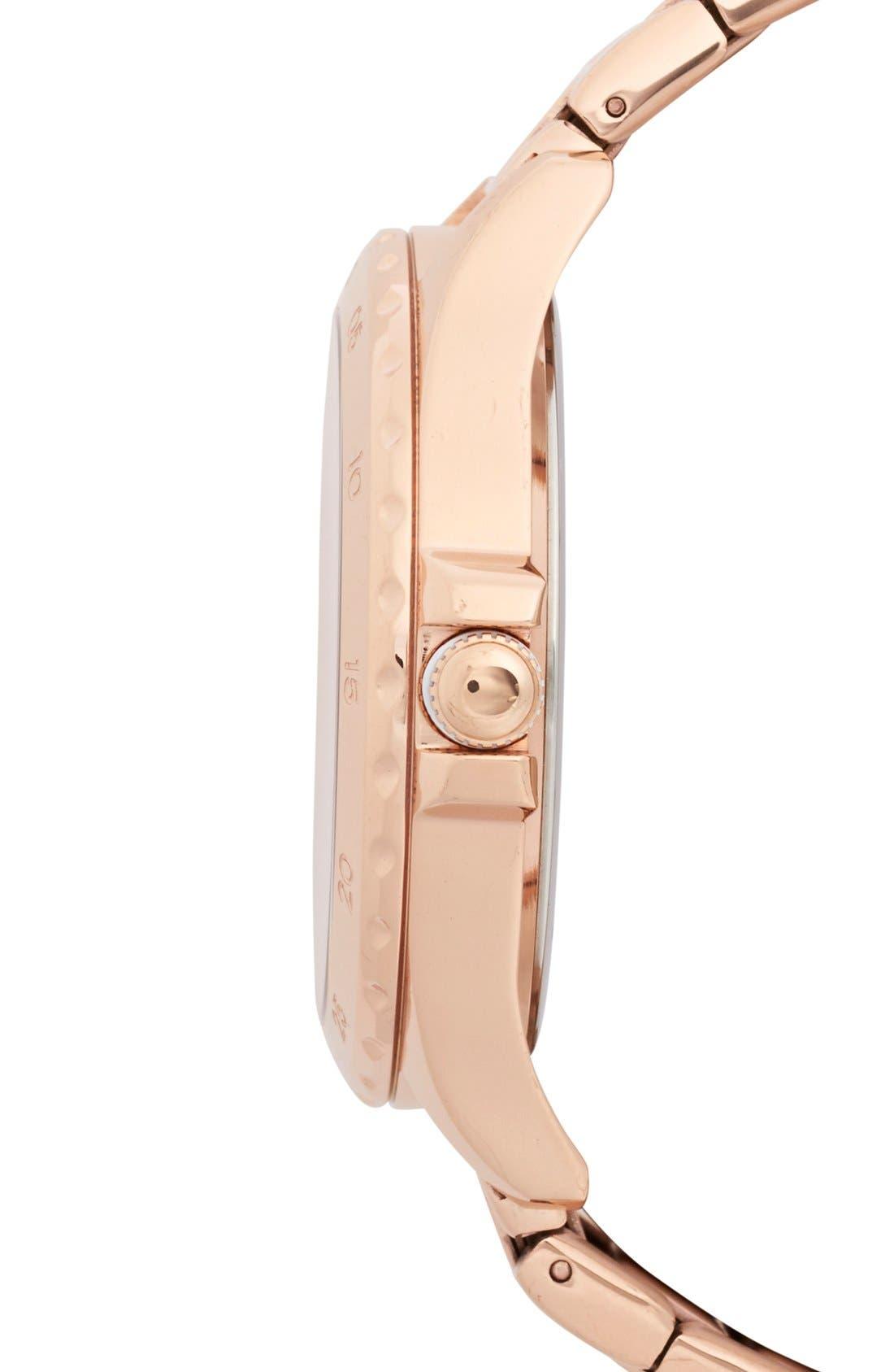 Alternate Image 3  - Tommy Hilfiger Bracelet Watch, 40mm