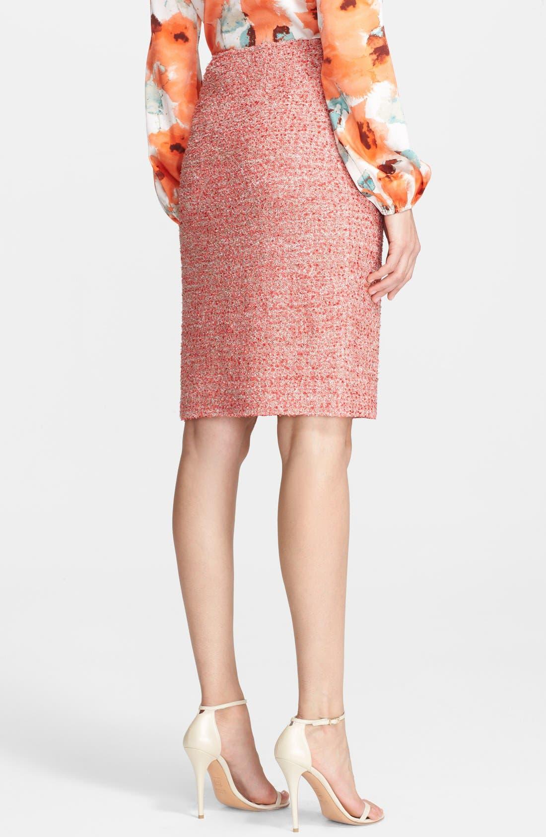 Alternate Image 4  - St. John Collection Eyelash Sparkle Knit Pencil Skirt