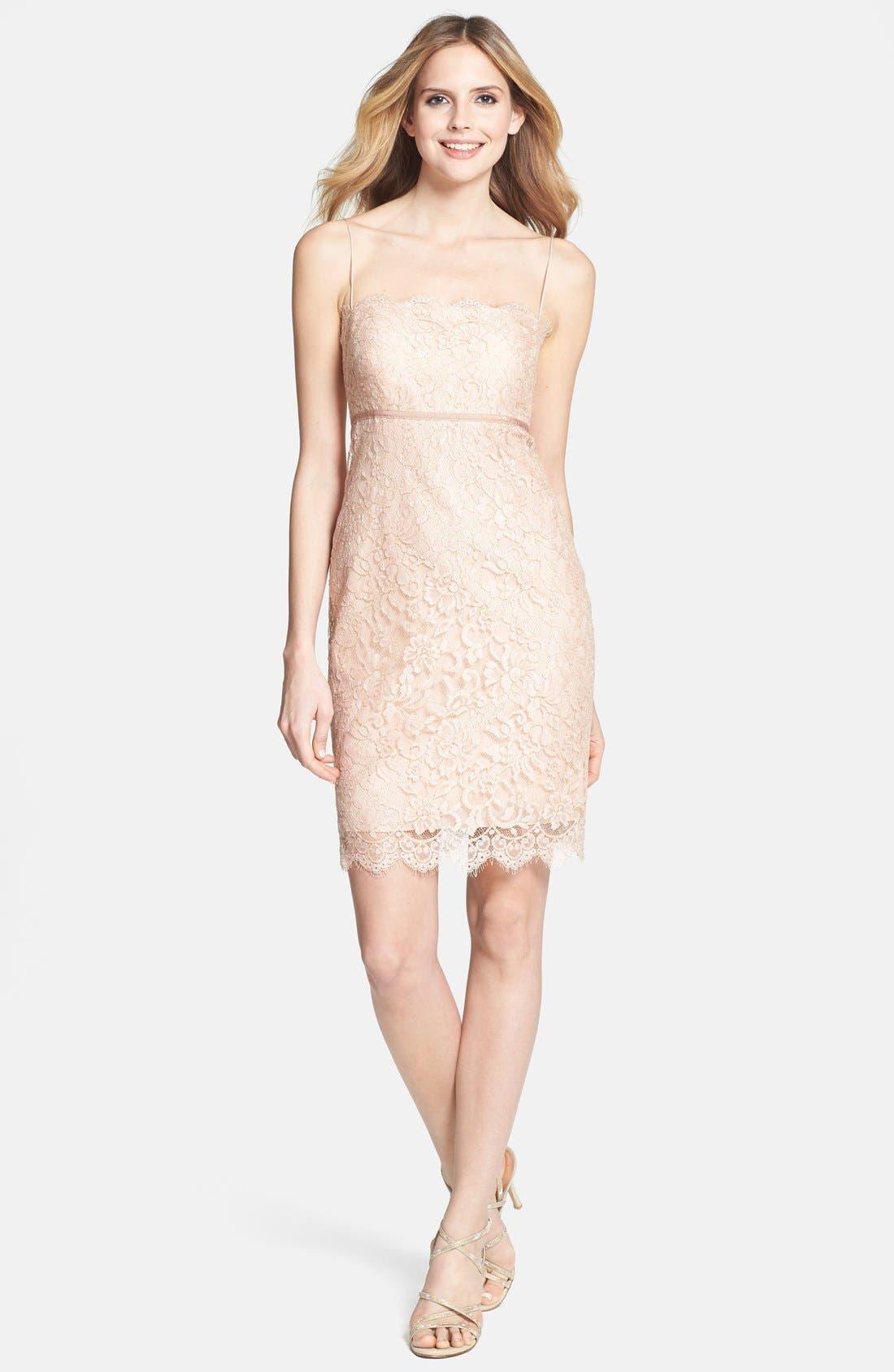 Alternate Image 3  - Jenny Yoo 'Cosette' Lace Dress