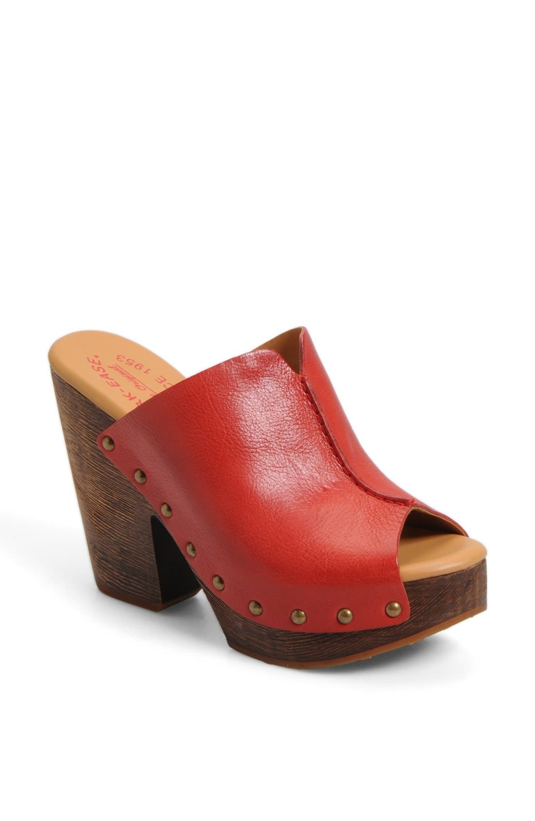 Alternate Image 1 Selected - Kork-Ease® 'Deanna' Open Toe Mule (Women)