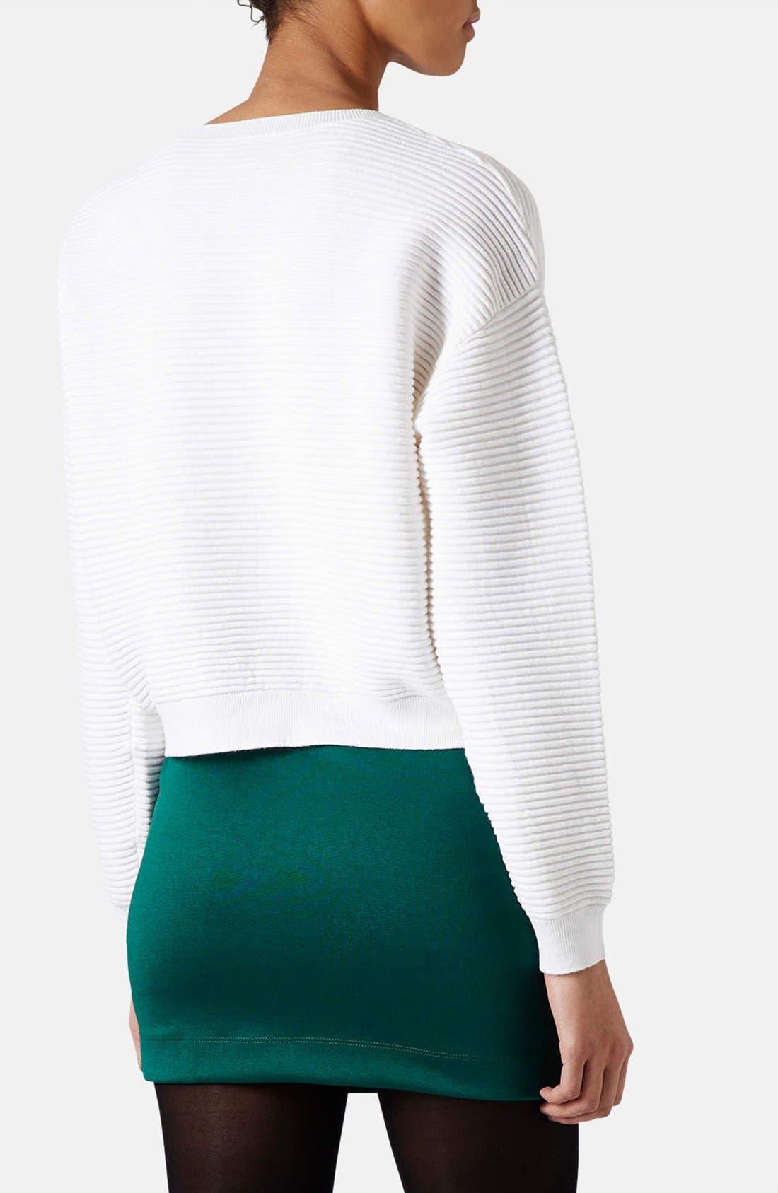 Alternate Image 2  - Topshop Rib Knit Sweater