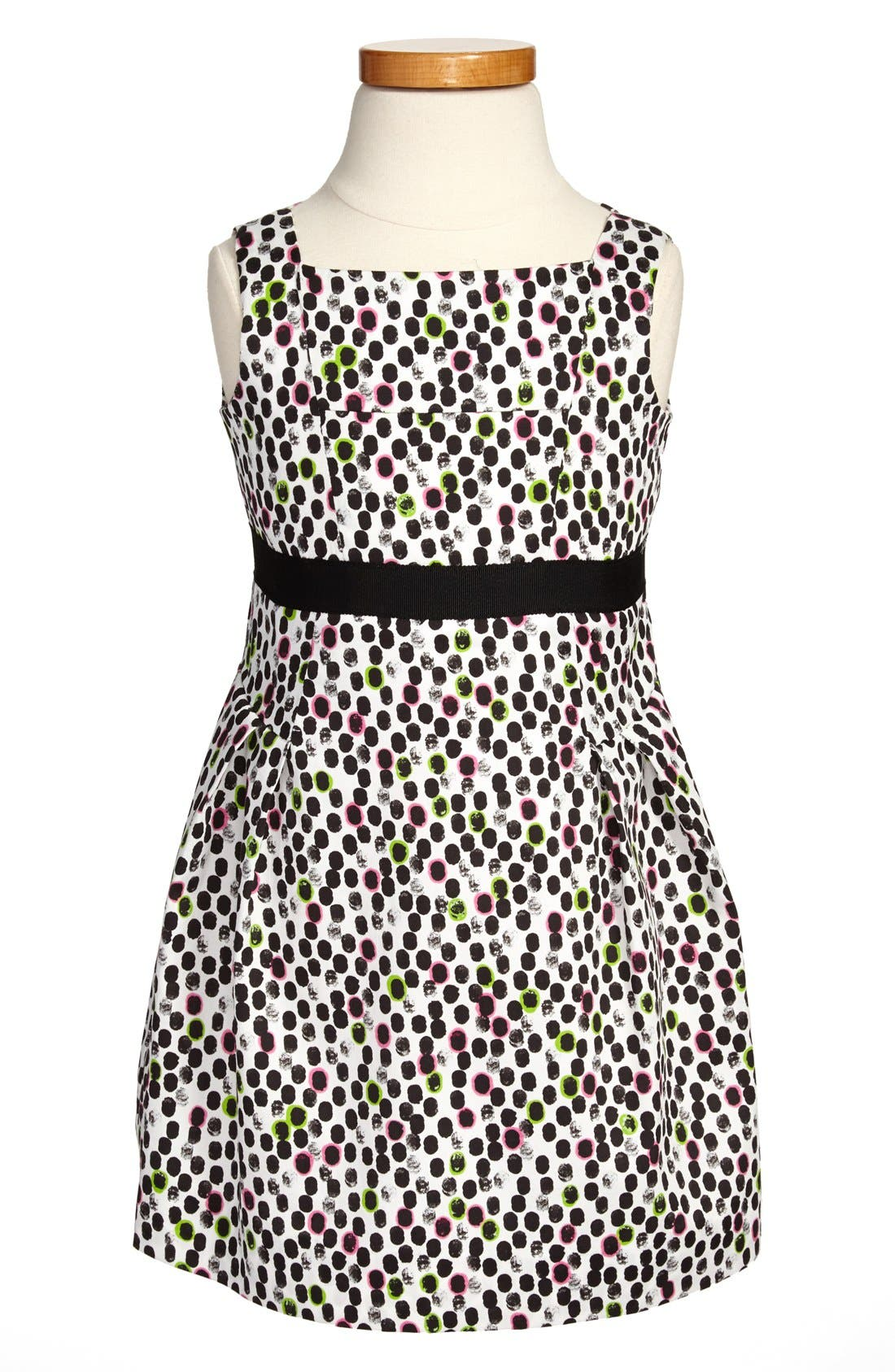 Alternate Image 1 Selected - Milly Minis Ocelot Print Shift Dress (Toddler Girls, Little Girls & Big Girls)