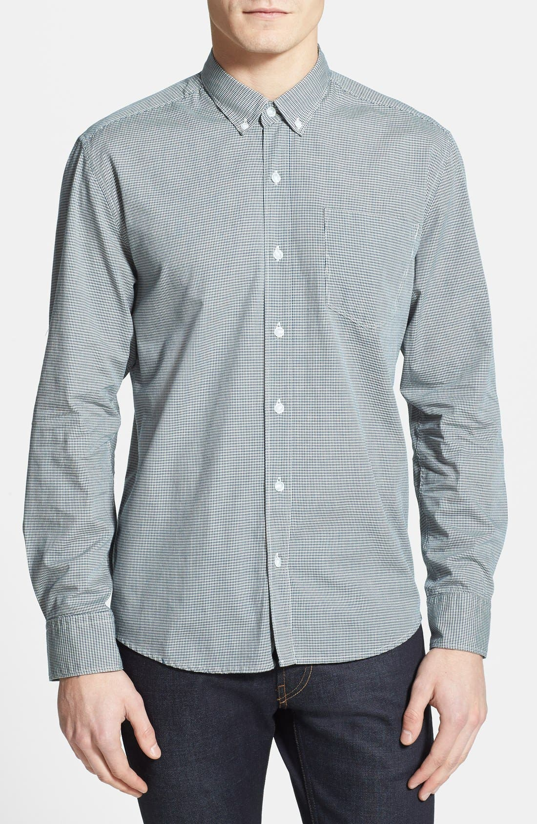 Main Image - W.R.K 'Derby' End-on-End Slim Fit Sport Shirt