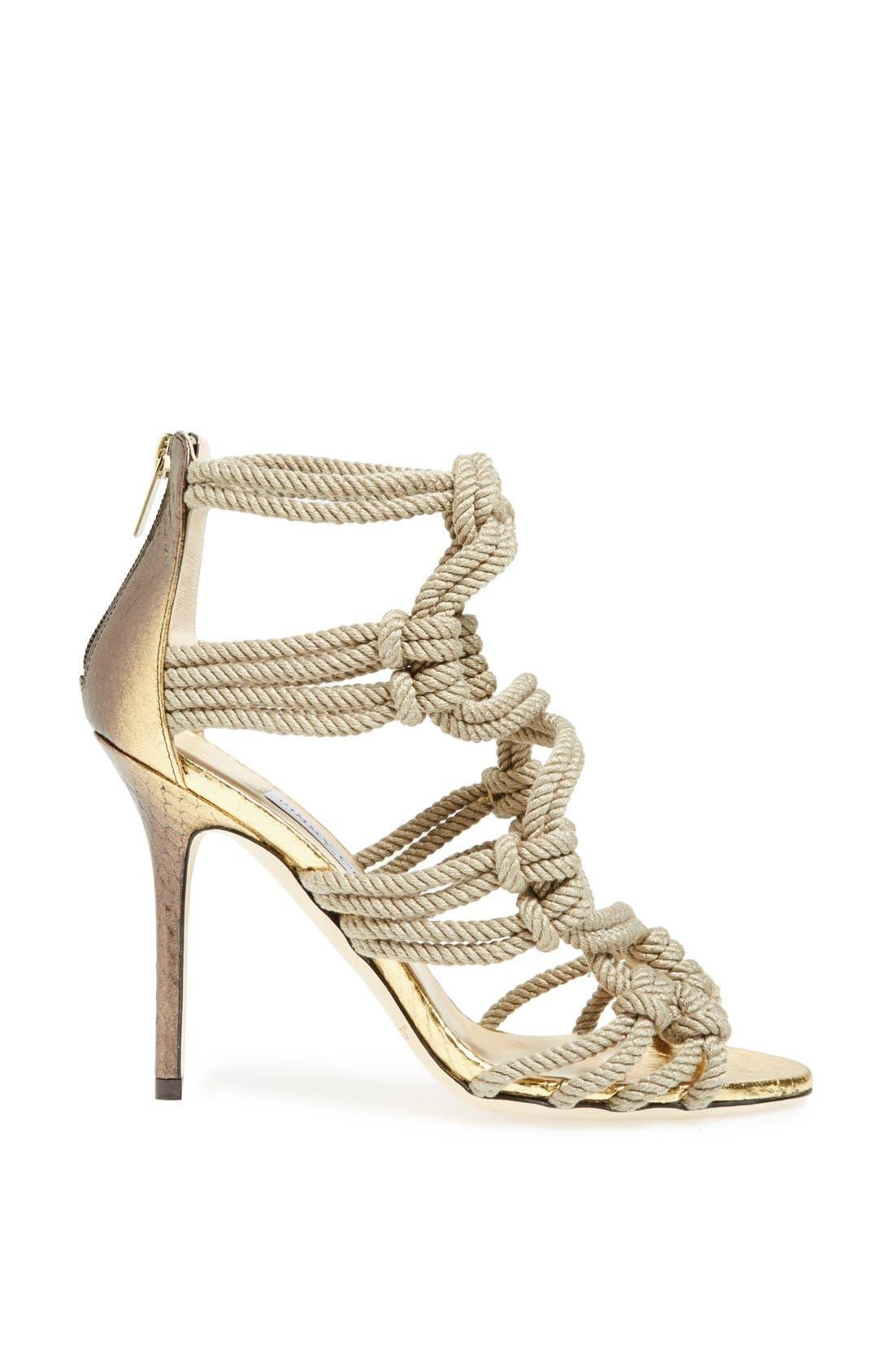 Alternate Image 4  - Jimmy Choo 'Kano' Braided Rope Sandal
