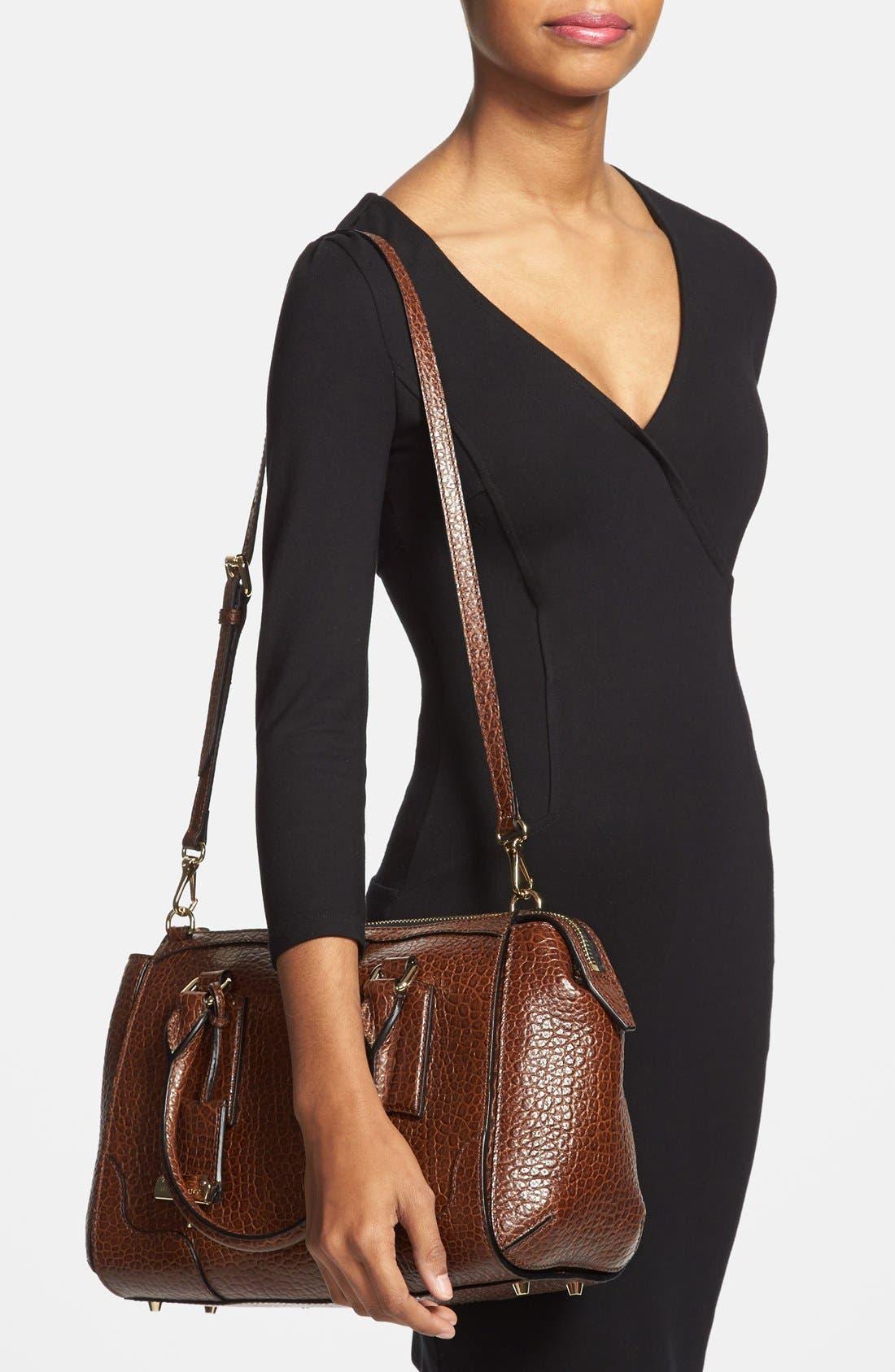 Alternate Image 2  - Burberry 'Small Gladstone' Leather Satchel
