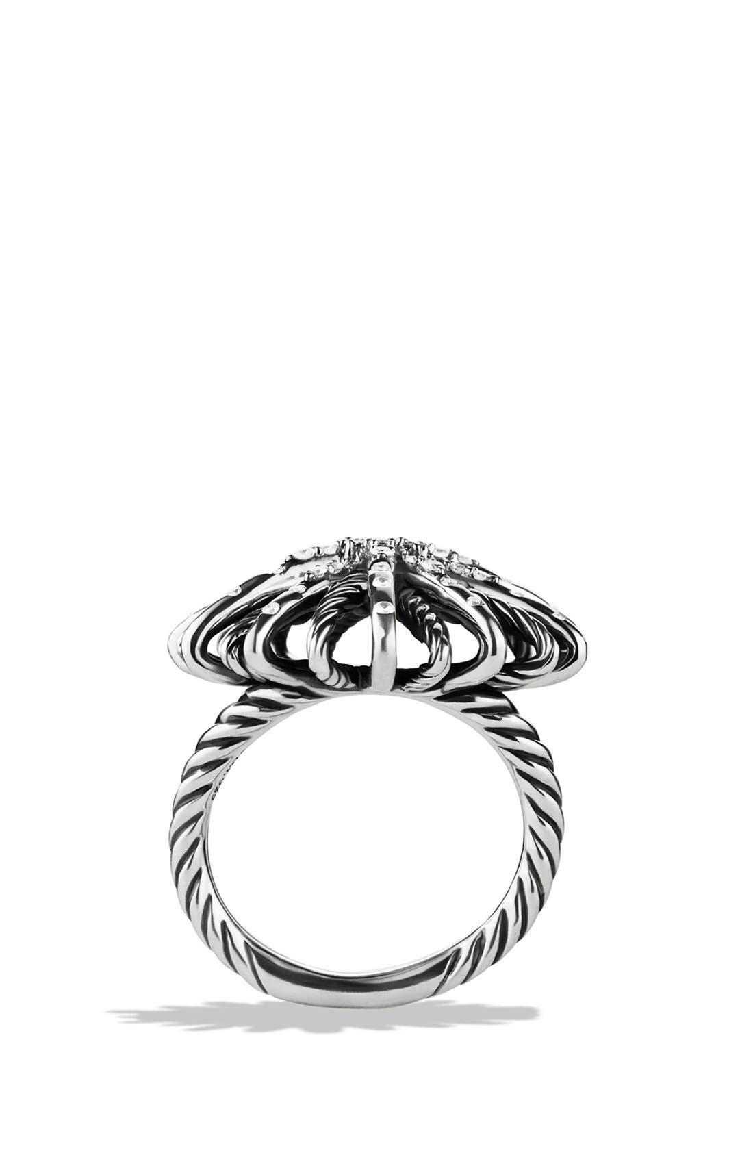 Alternate Image 4  - David Yurman 'Starburst' Ring with Diamonds