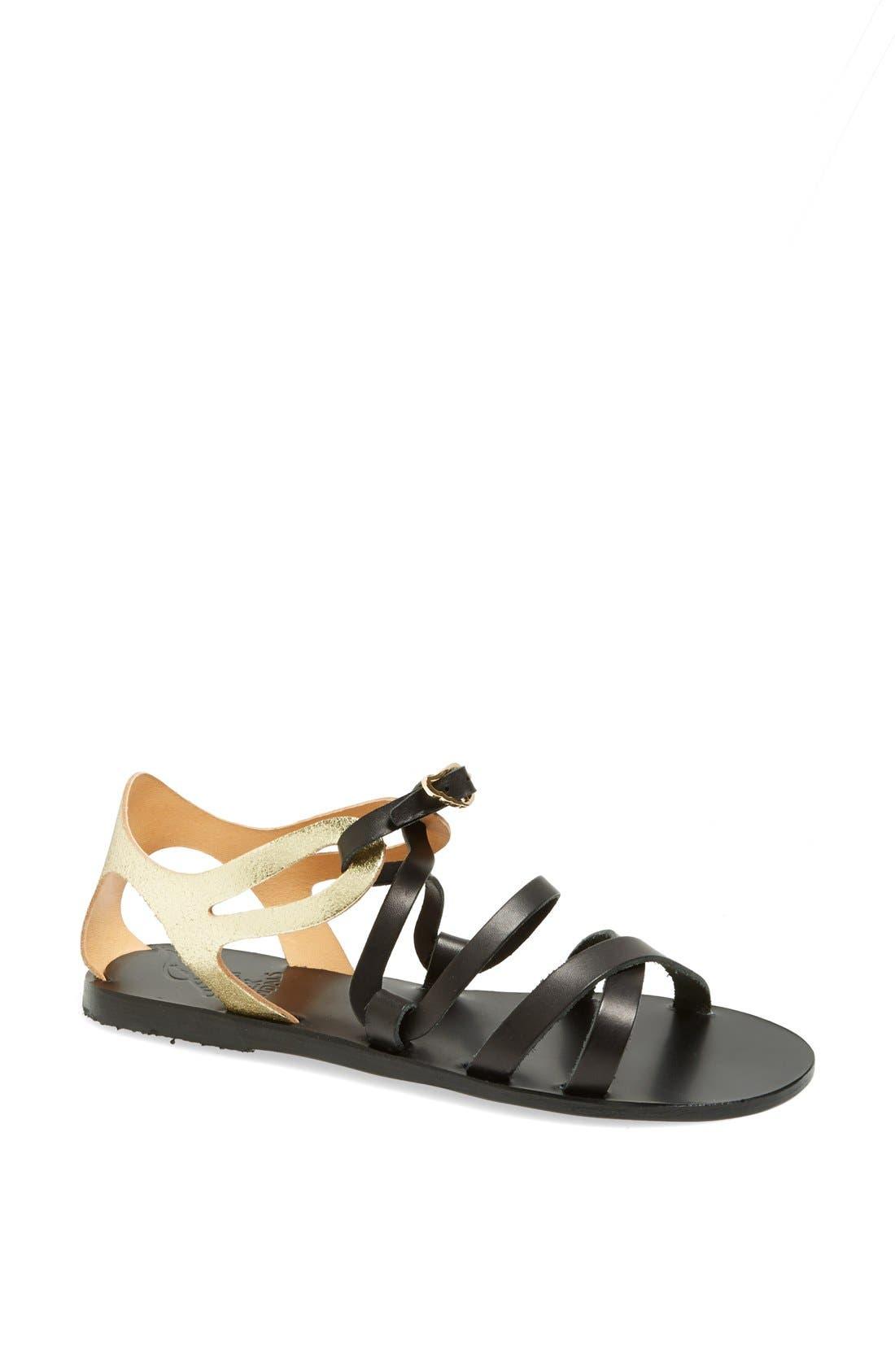 Main Image - Ancient Greek Sandals 'Ellie' Leather Ankle Strap Sandal
