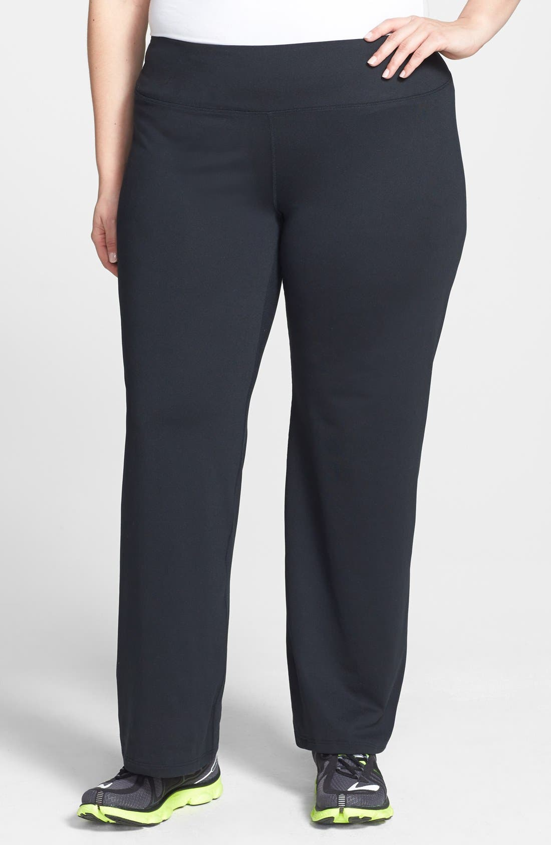Alternate Image 1 Selected - Moving Comfort 'Fearless' Pants (UPF 50) (Plus Size)