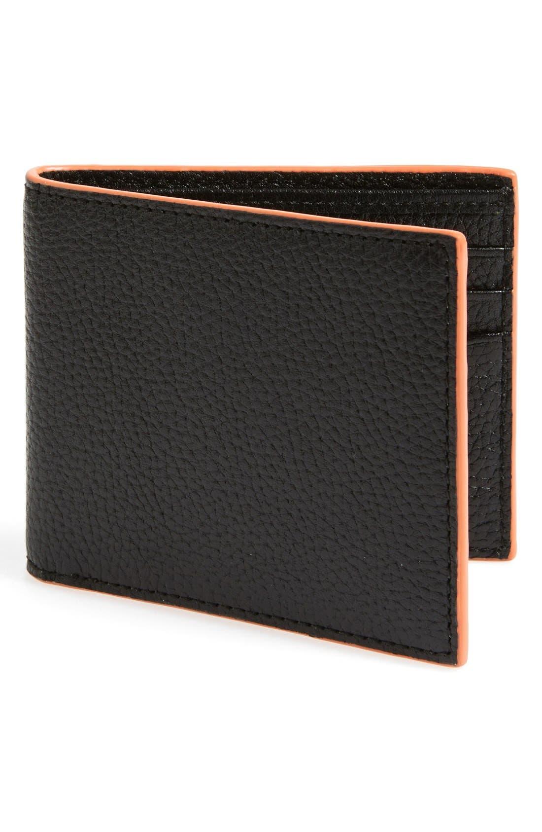 Alternate Image 1 Selected - Jack Spade 'Mason' Leather Wallet