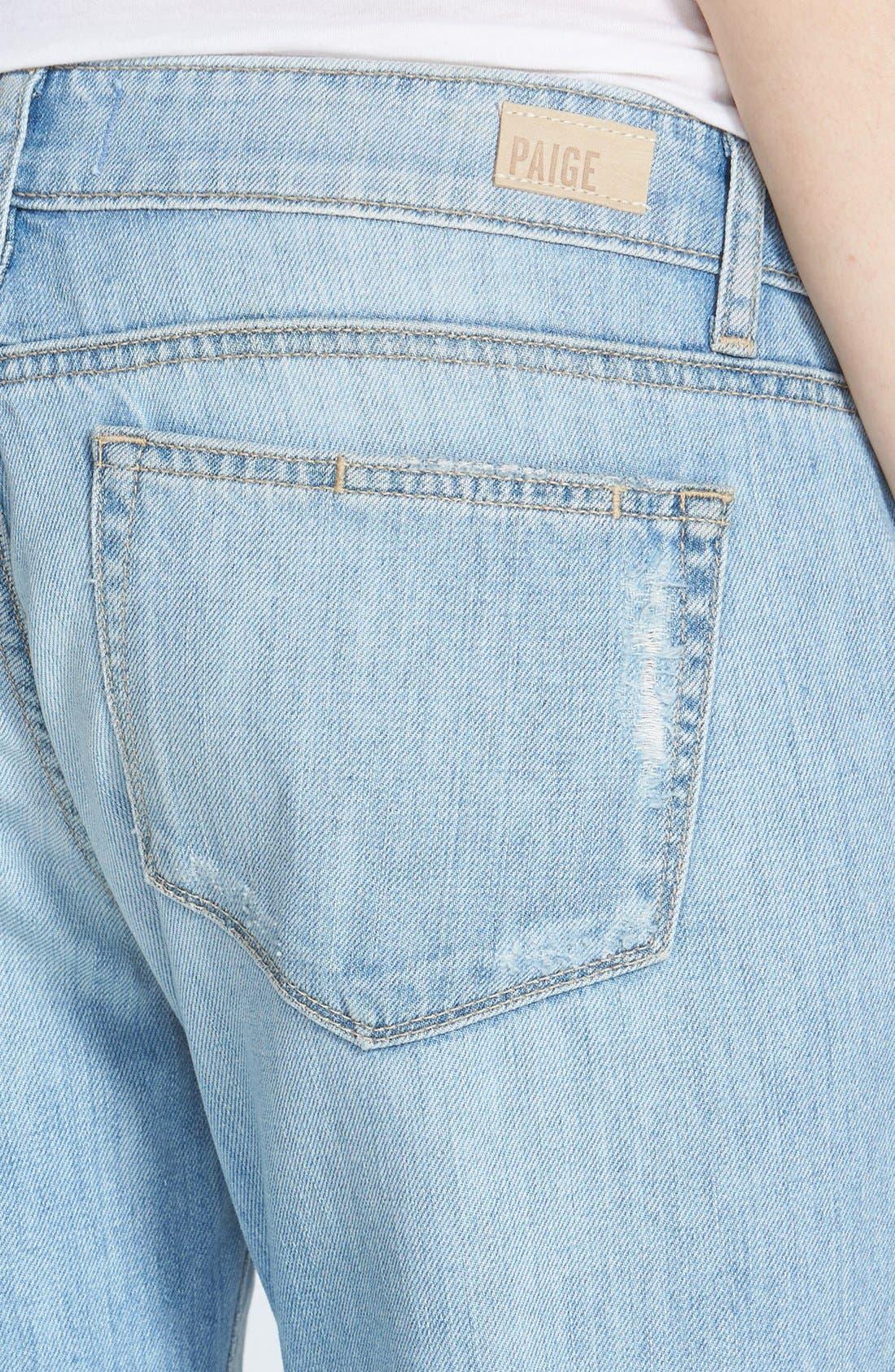 Alternate Image 3  - Paige Denim 'Jimmy Jimmy' Destroyed Crop Boyfriend Jeans (Naomi Distressed)