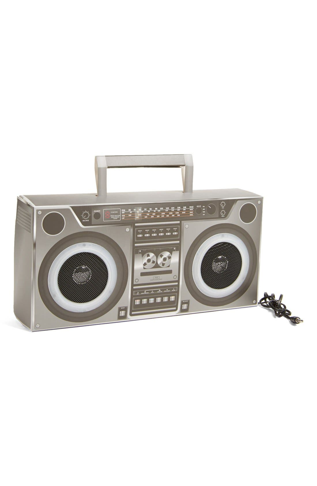 Alternate Image 1 Selected - NPW 'Instant Beat' Cardboard Speaker (Juniors) (Online Only)