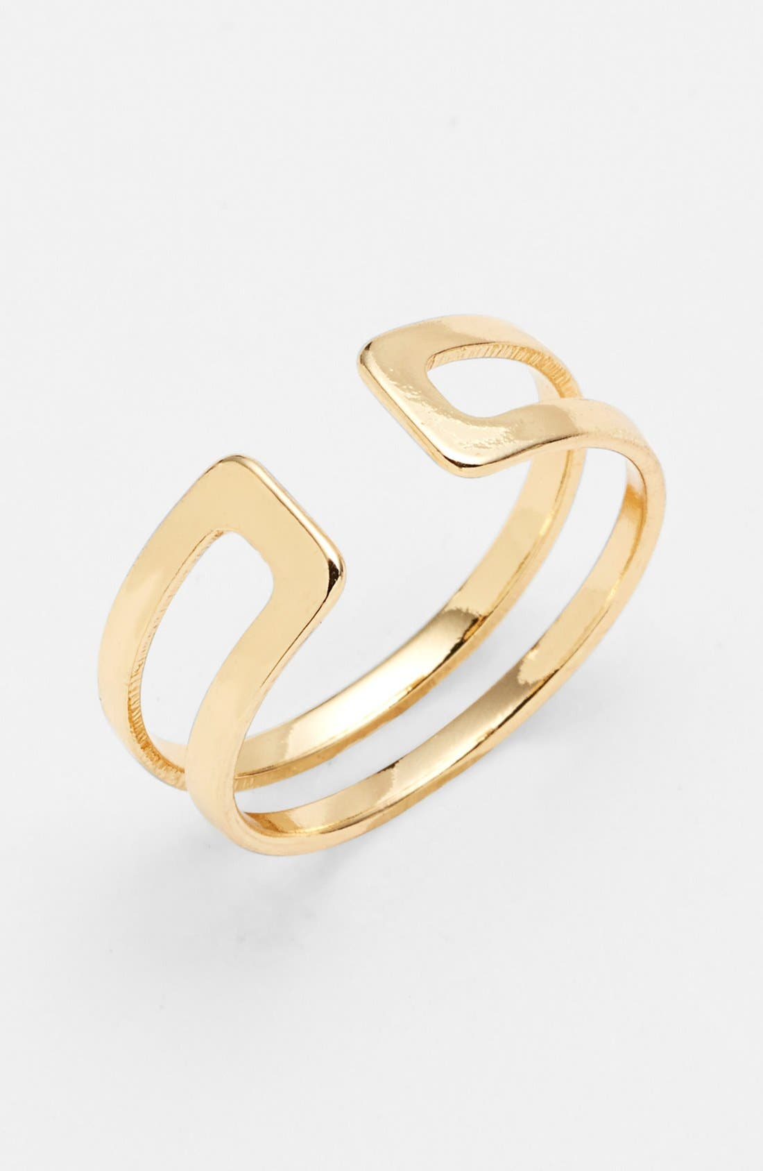 Alternate Image 1 Selected - BP. Cutout Midi Ring (Juniors) (Online Only)