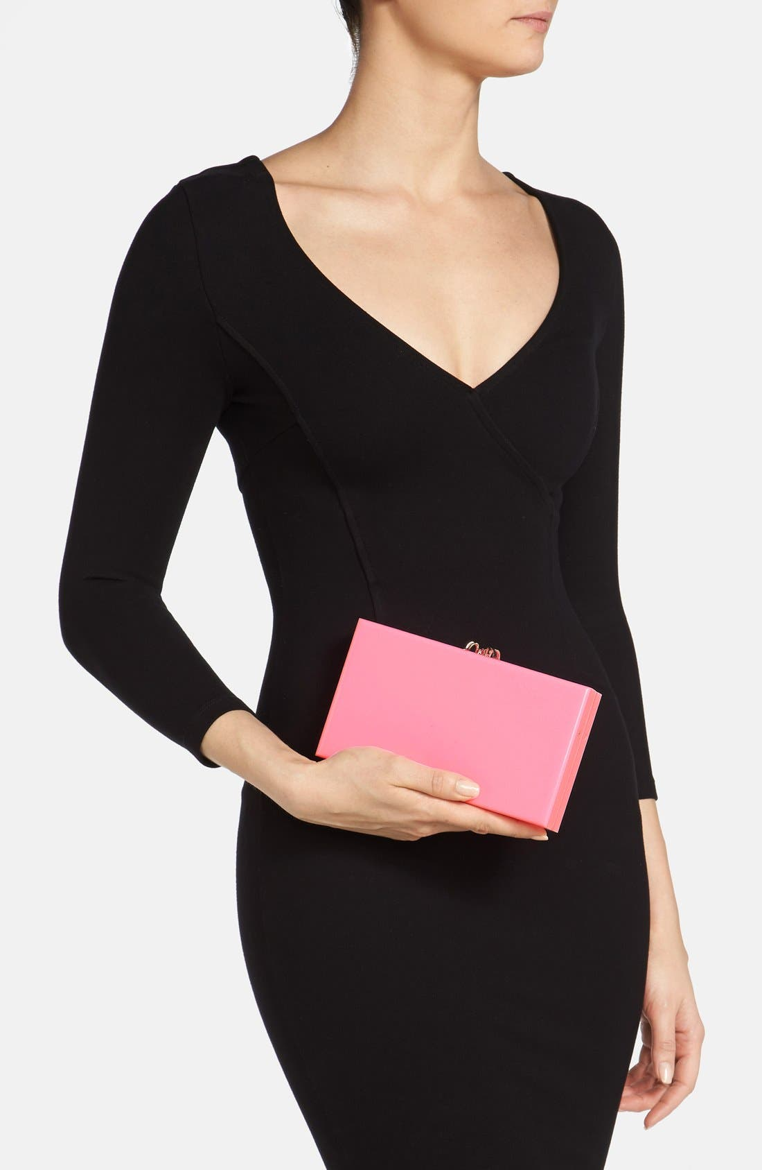 Alternate Image 2  - Charlotte Olympia Spider Clasp Clutch