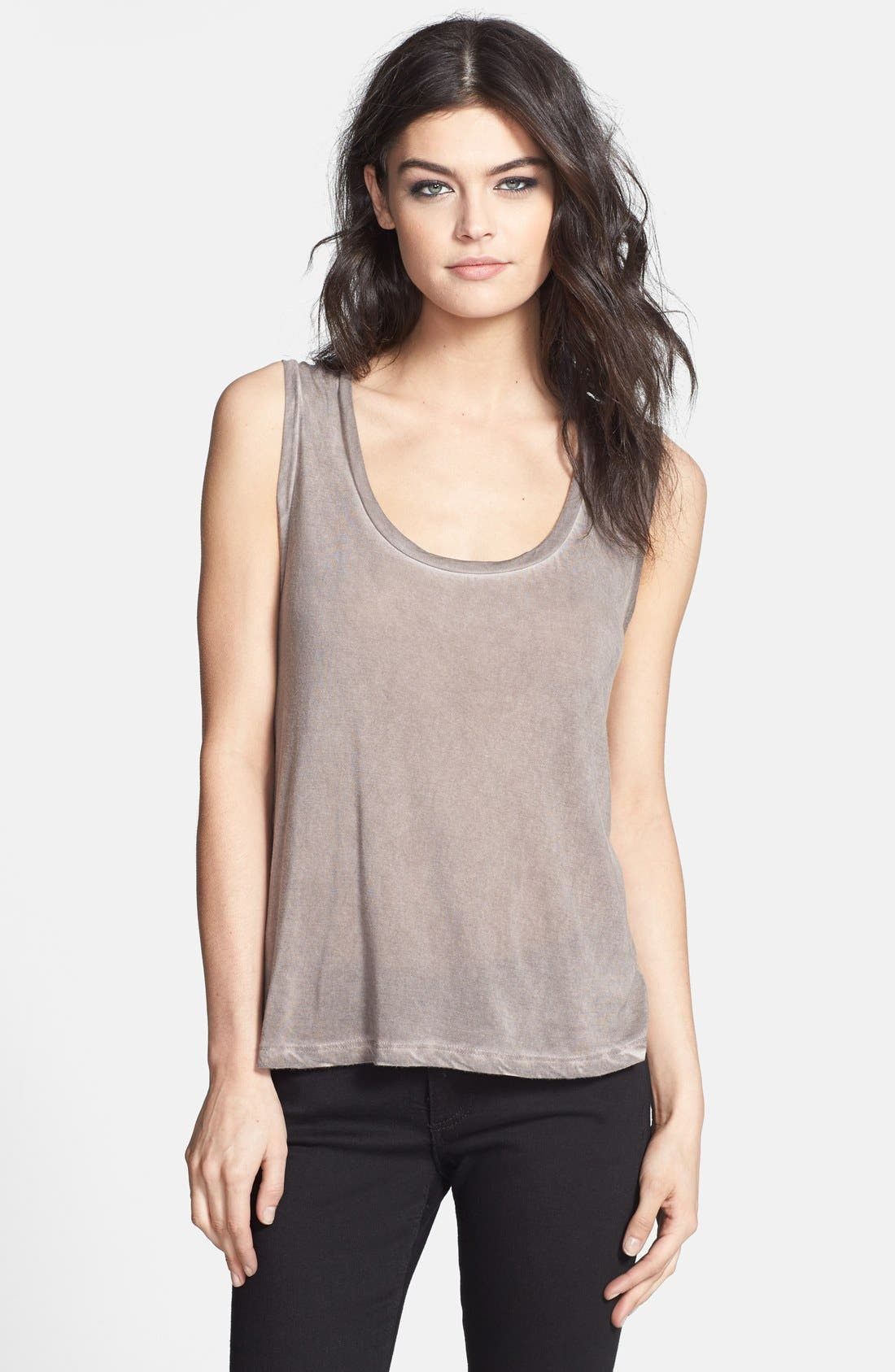 Alternate Image 1 Selected - Leith Faded Muscle Tank
