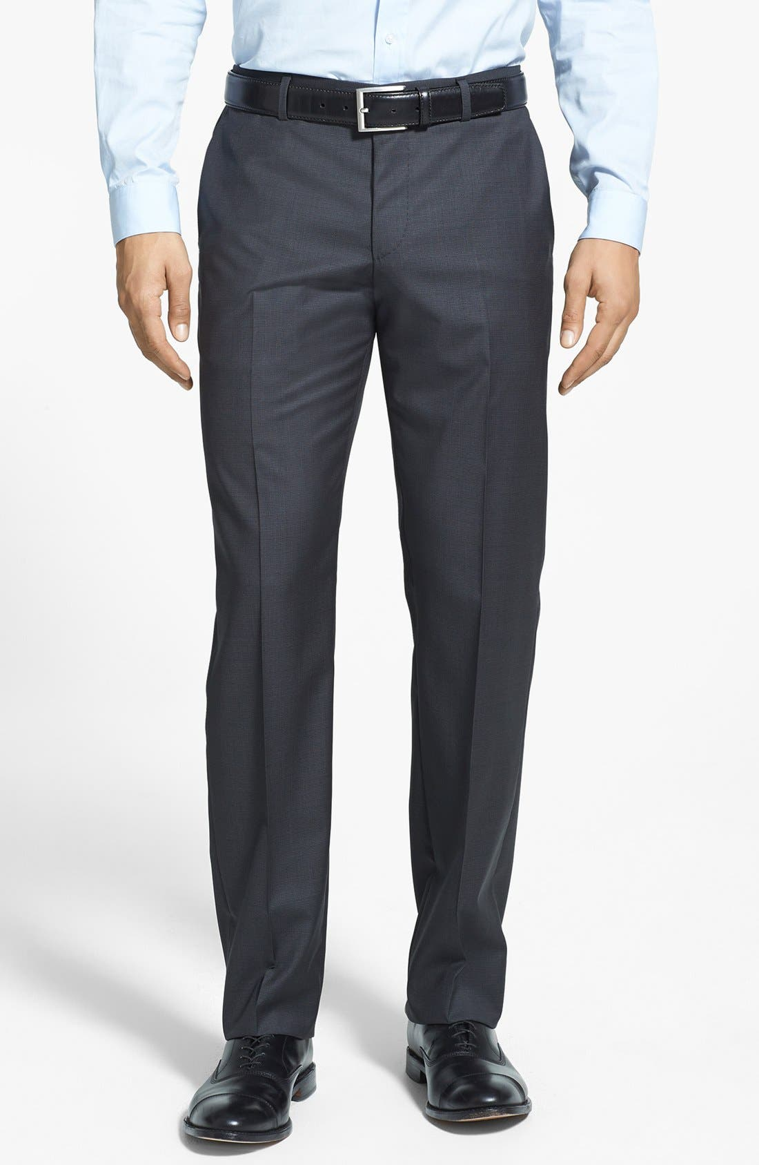 Alternate Image 4  - BOSS HUGO BOSS 'Keys/Shaft' Trim Fit Wool Suit