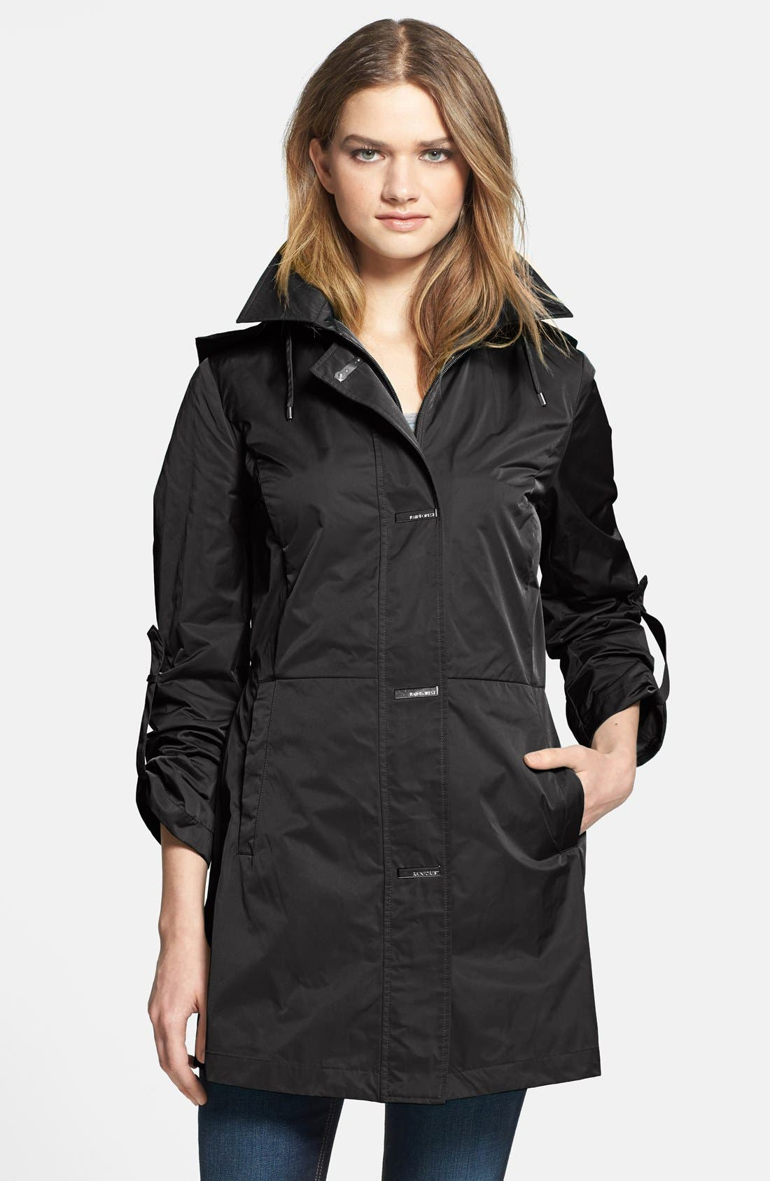 Alternate Image 1 Selected - RAINFOREST Packable Roll Sleeve Jacket